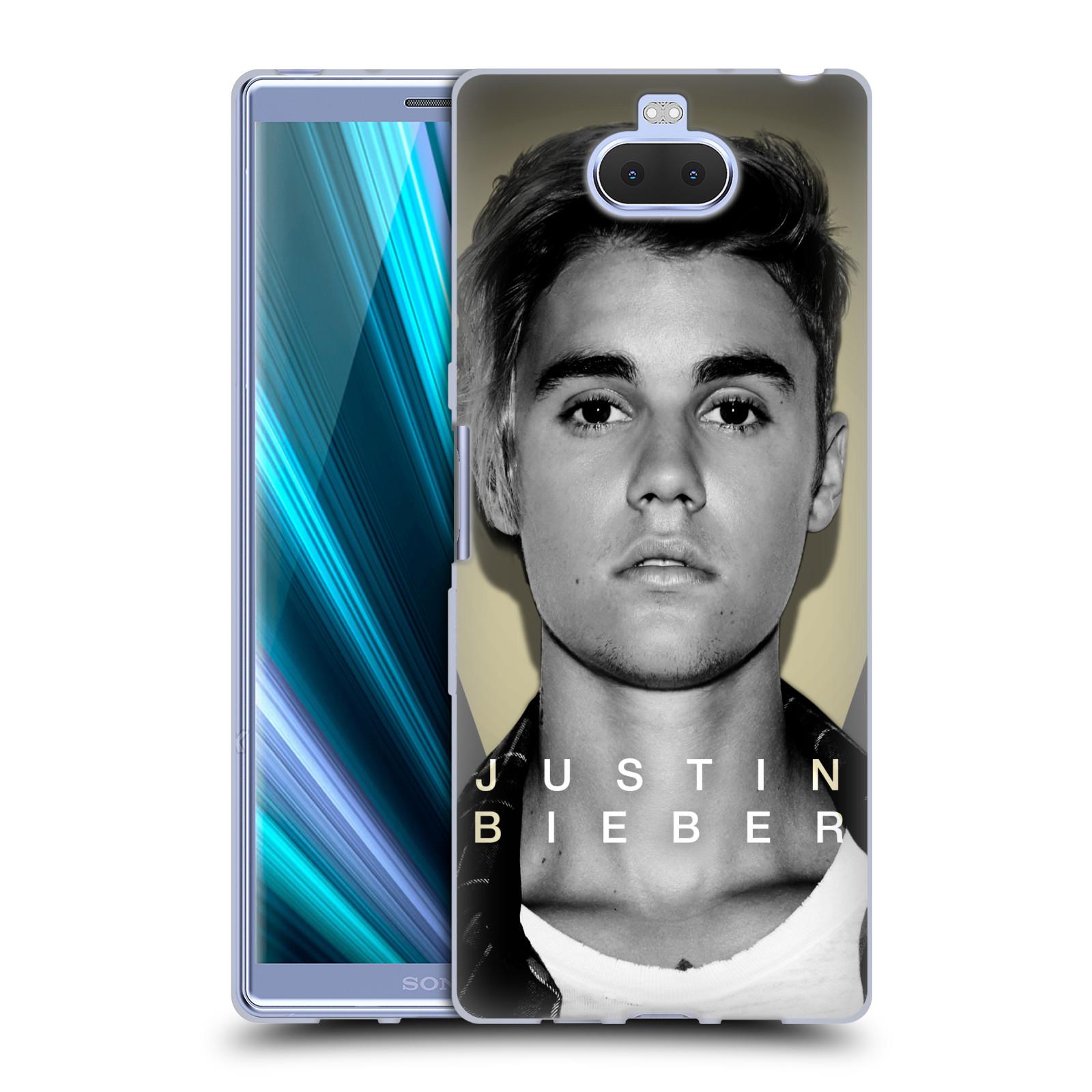 Silikonové pouzdro na mobil Sony Xperia 10 Plus - Head Case - Justin Bieber Official - Head Shot
