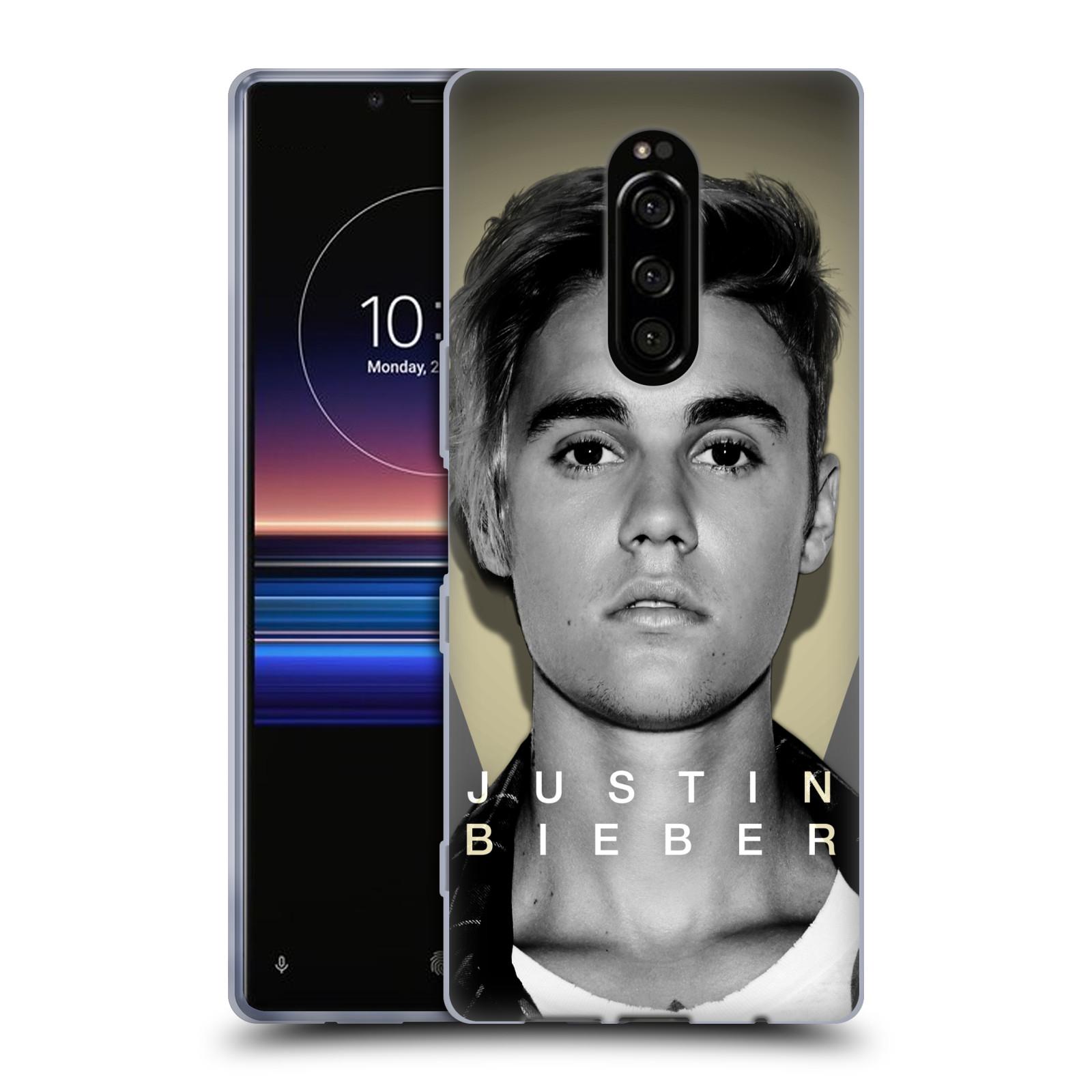 Silikonové pouzdro na mobil Sony Xperia 1 - Head Case - Justin Bieber Official - Head Shot