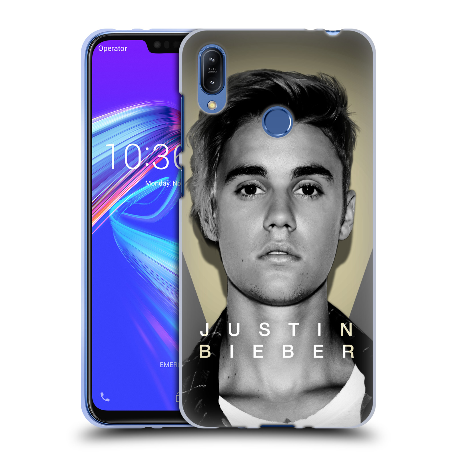 Silikonové pouzdro na mobil Asus Zenfone Max (M2) ZB633KL - Head Case - Justin Bieber Official - Head Shot