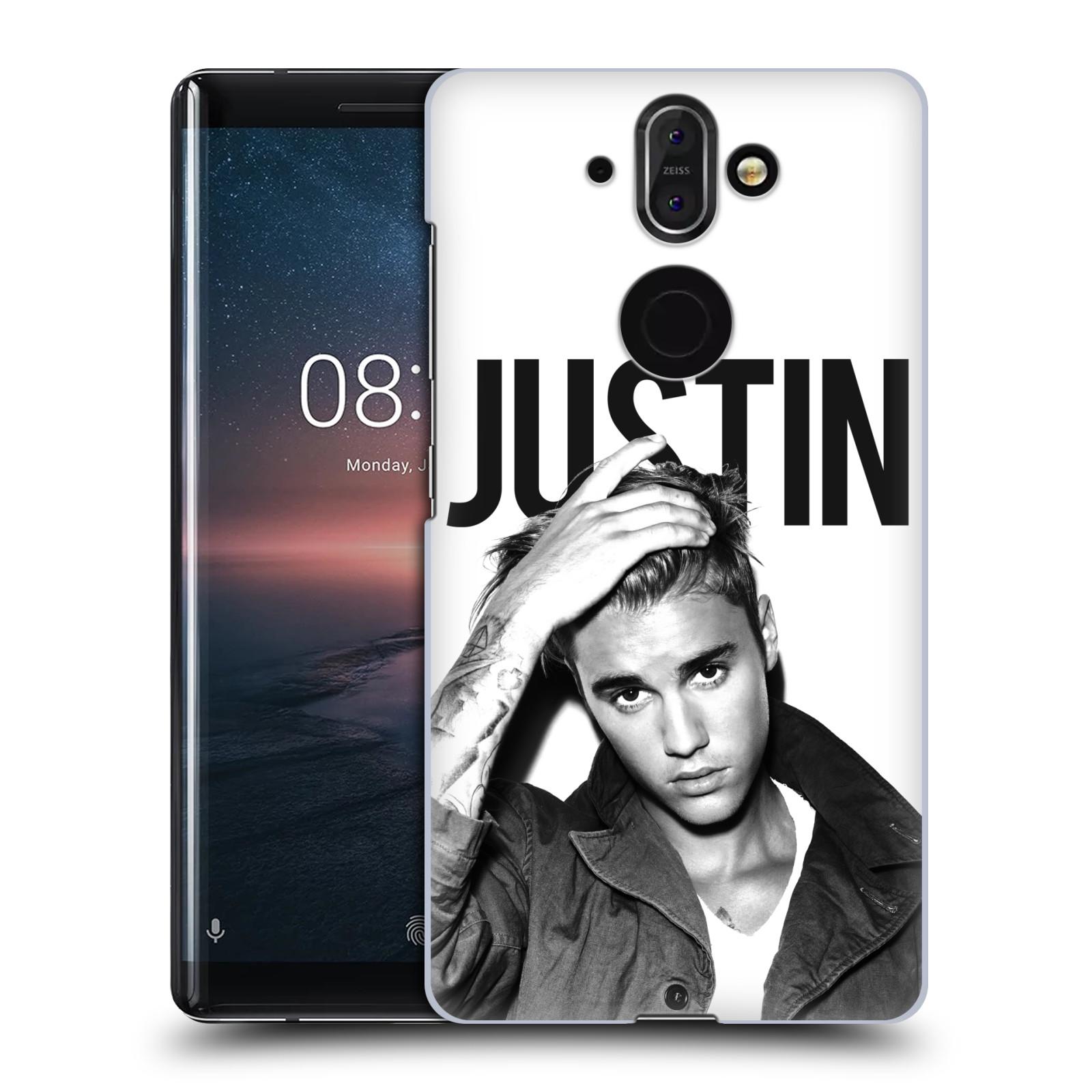 Plastové pouzdro na mobil Nokia 8 Sirocco - Head Case - Justin Bieber Official - Póza