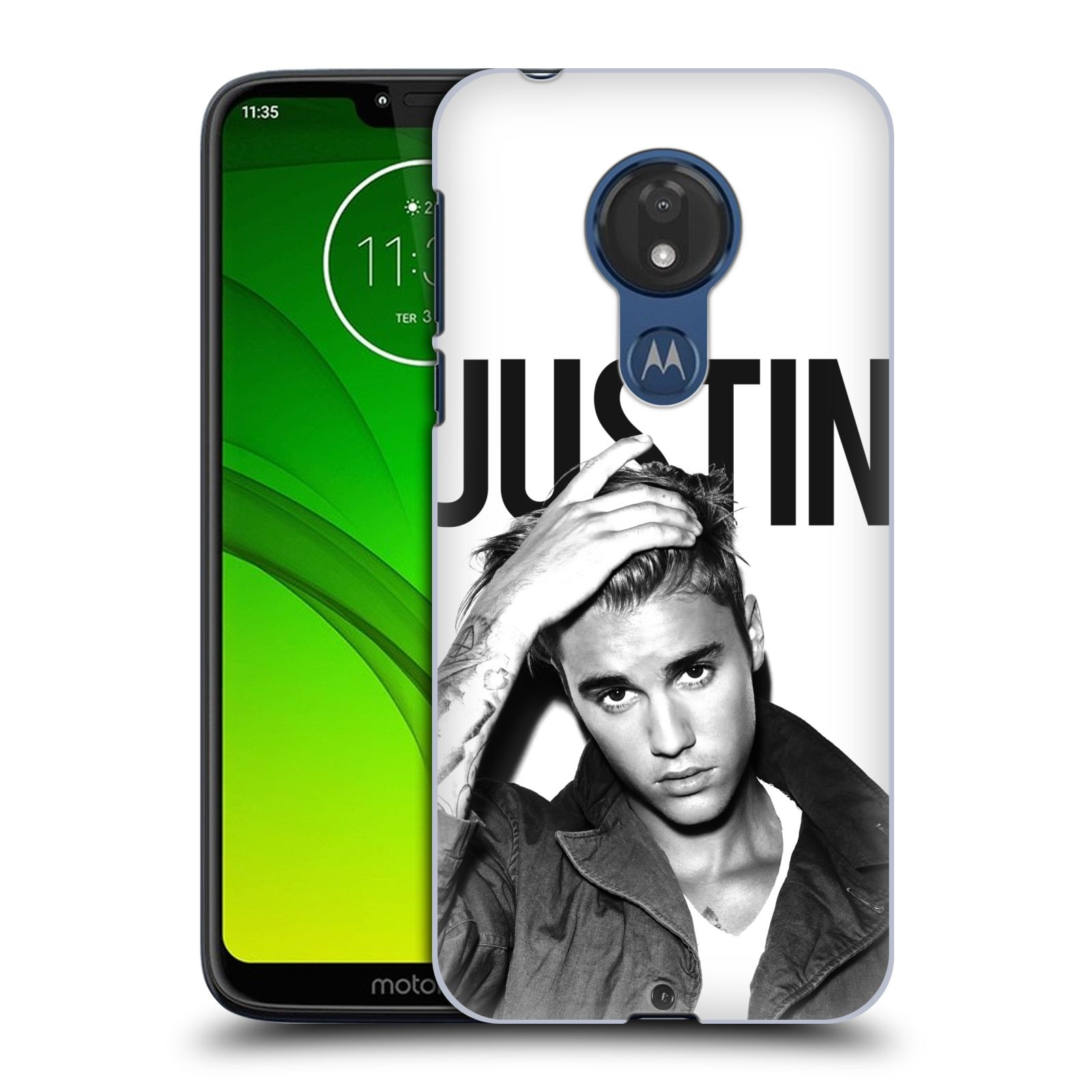 Plastové pouzdro na mobil Motorola Moto G7 Power - Head Case - Justin Bieber Official - Póza