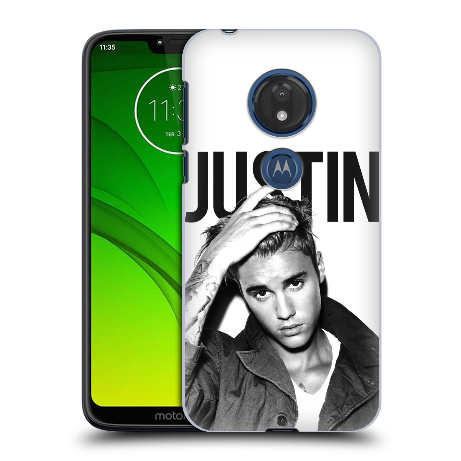 Plastové pouzdro na mobil Motorola Moto G7 Play - Head Case - Justin Bieber Official - Póza