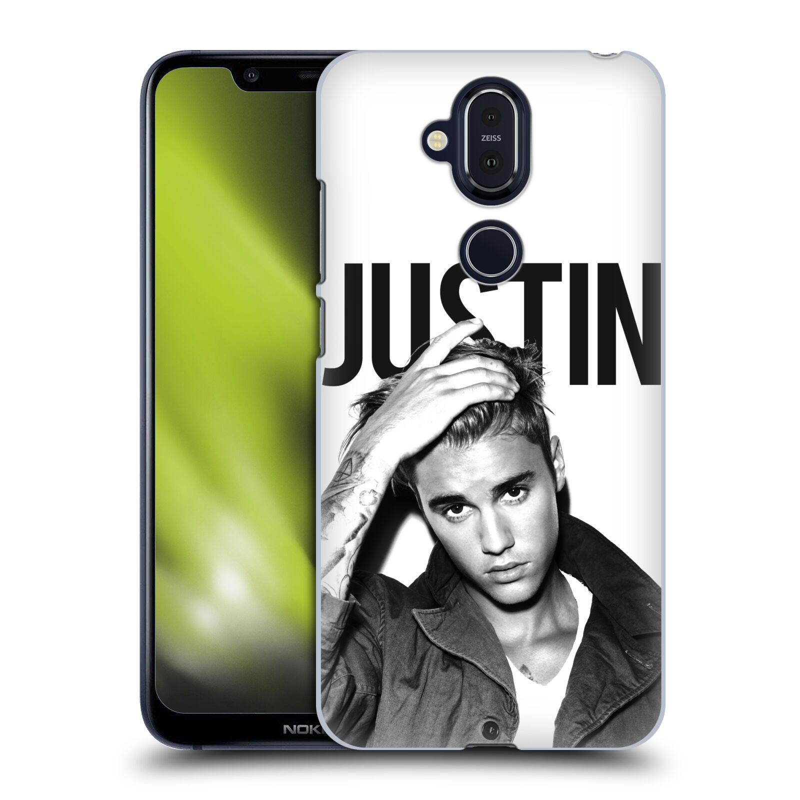 Plastové pouzdro na mobil Nokia 8.1 - Head Case - Justin Bieber Official - Póza