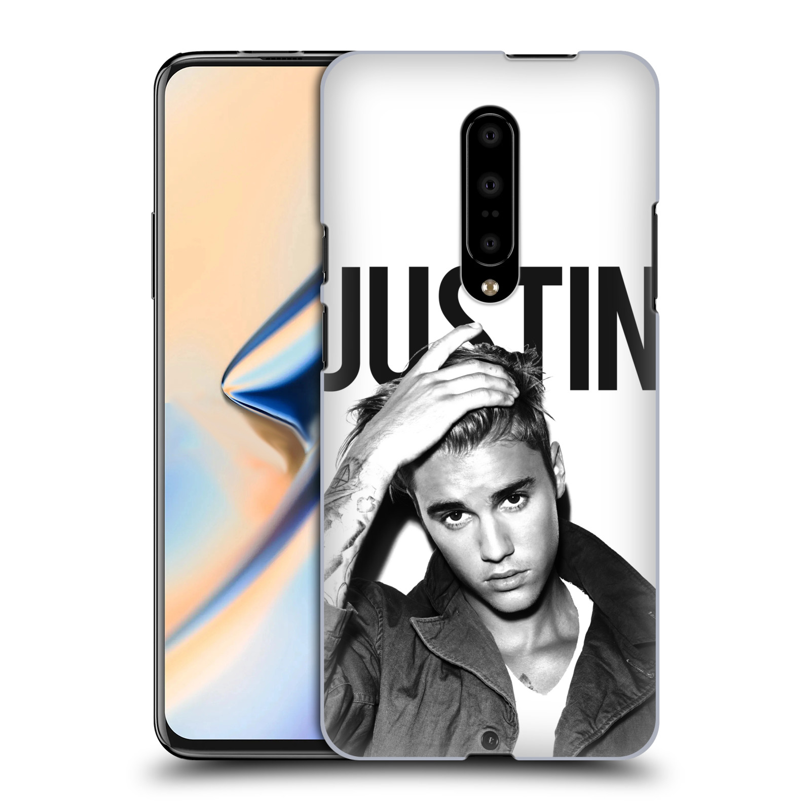 Plastové pouzdro na mobil OnePlus 7 - Head Case - Justin Bieber Official - Póza