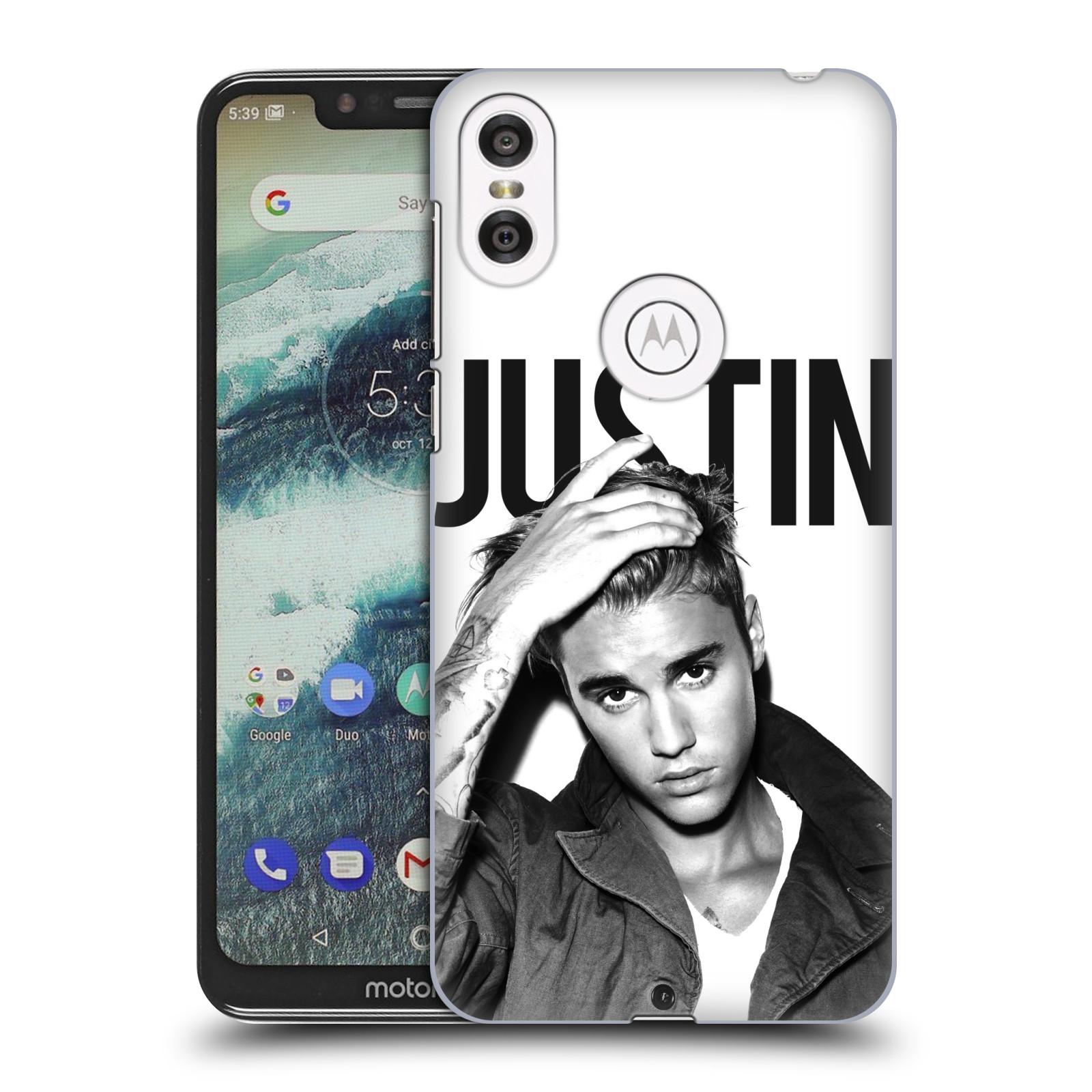 Plastové pouzdro na mobil Motorola One - Head Case - Justin Bieber Official - Póza