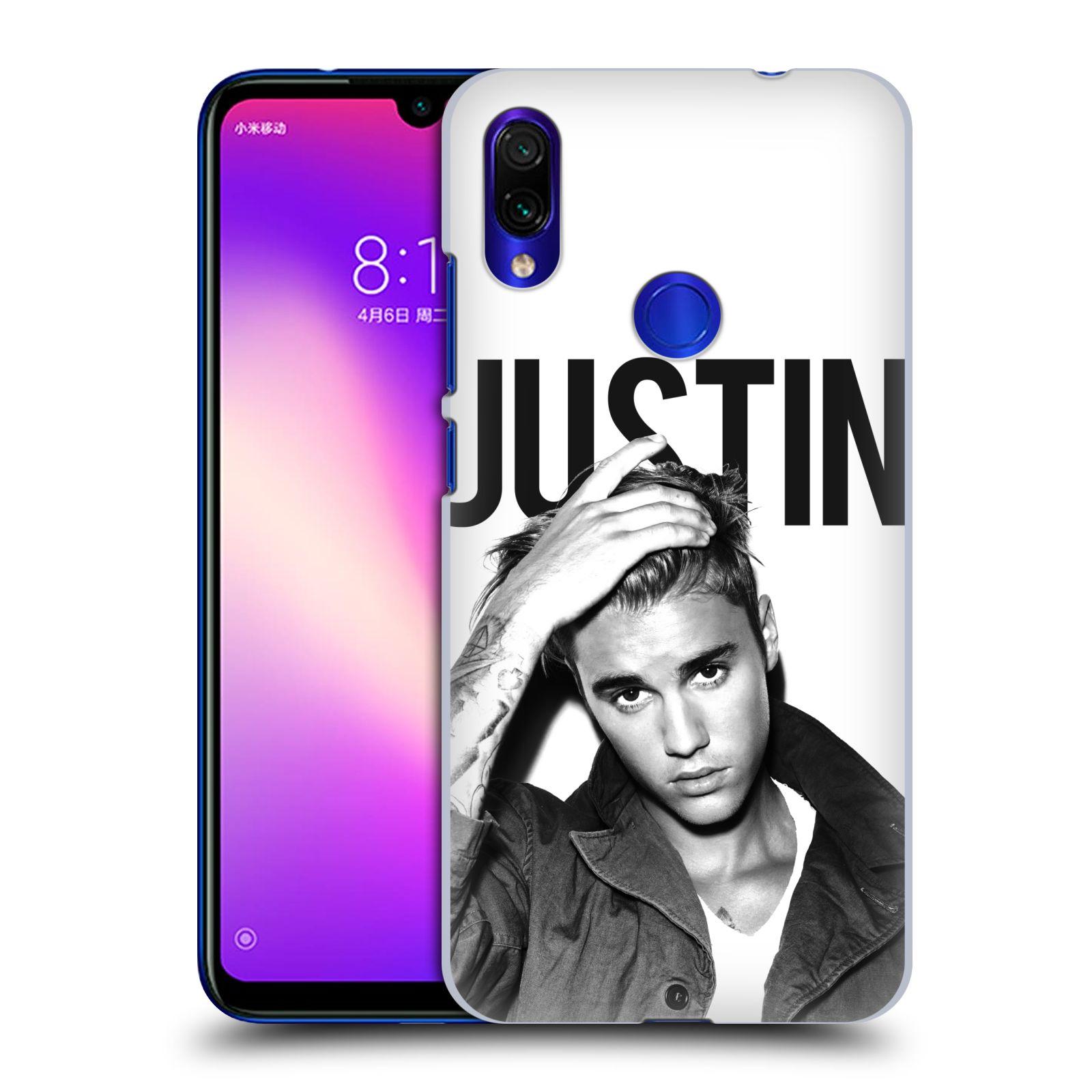 Plastové pouzdro na mobil Xiaomi Redmi Note 7 - Head Case - Justin Bieber Official - Póza