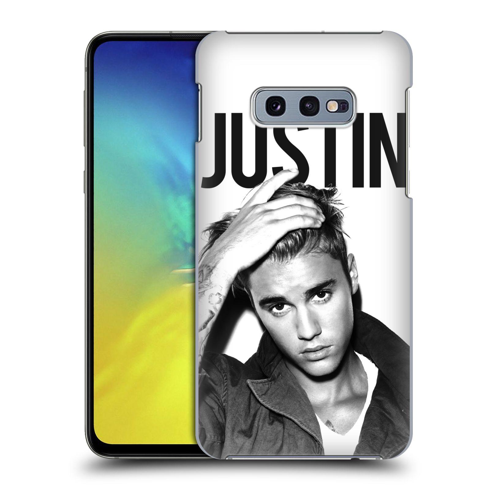 Plastové pouzdro na mobil Samsung Galaxy S10e - Head Case - Justin Bieber Official - Póza