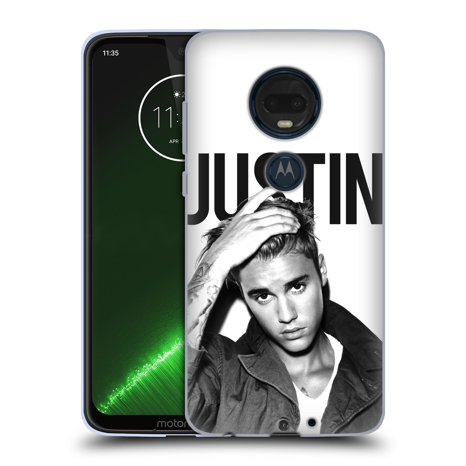 Silikonové pouzdro na mobil Motorola Moto G7 Plus - Head Case - Justin Bieber Official - Póza