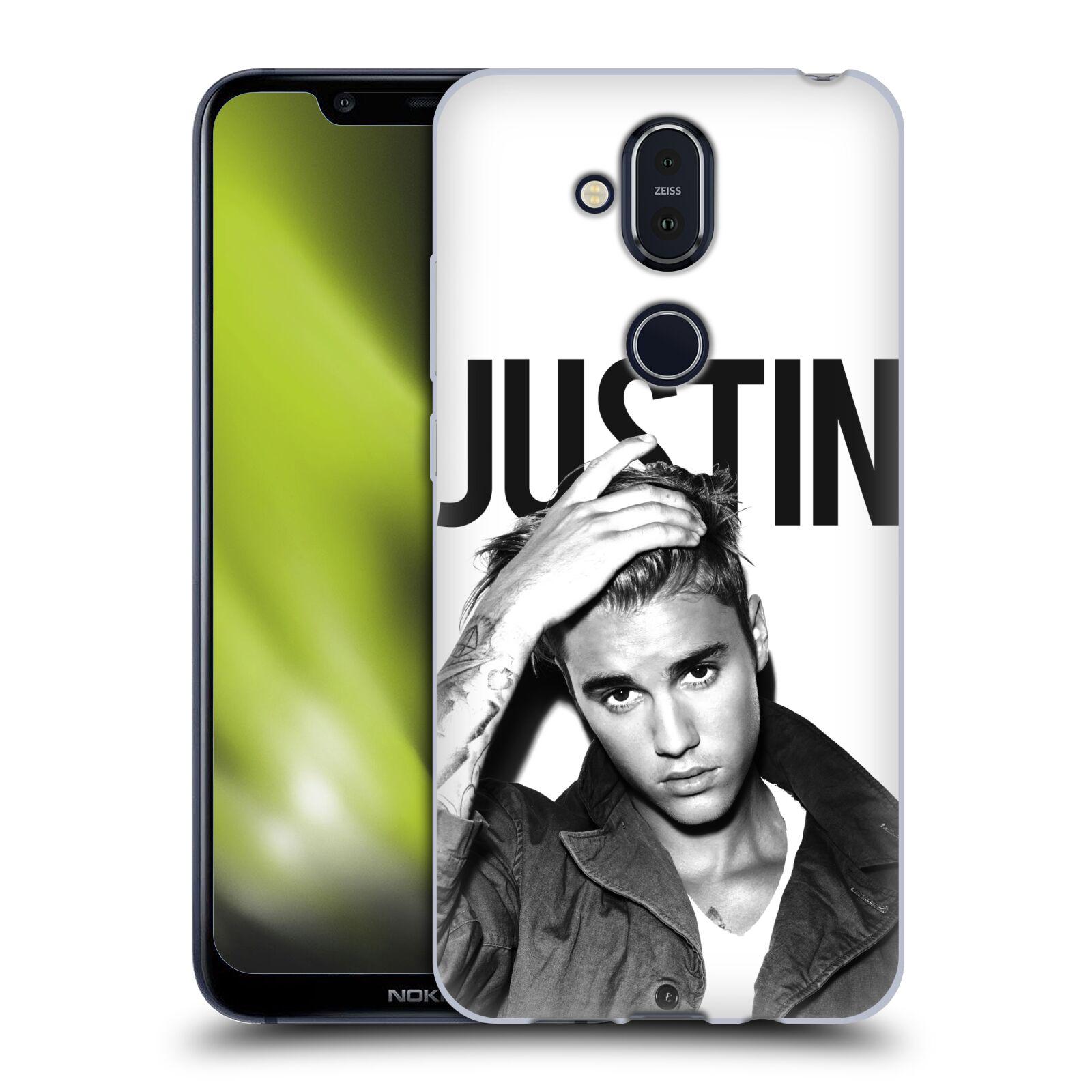 Silikonové pouzdro na mobil Nokia 8.1 - Head Case - Justin Bieber Official - Póza