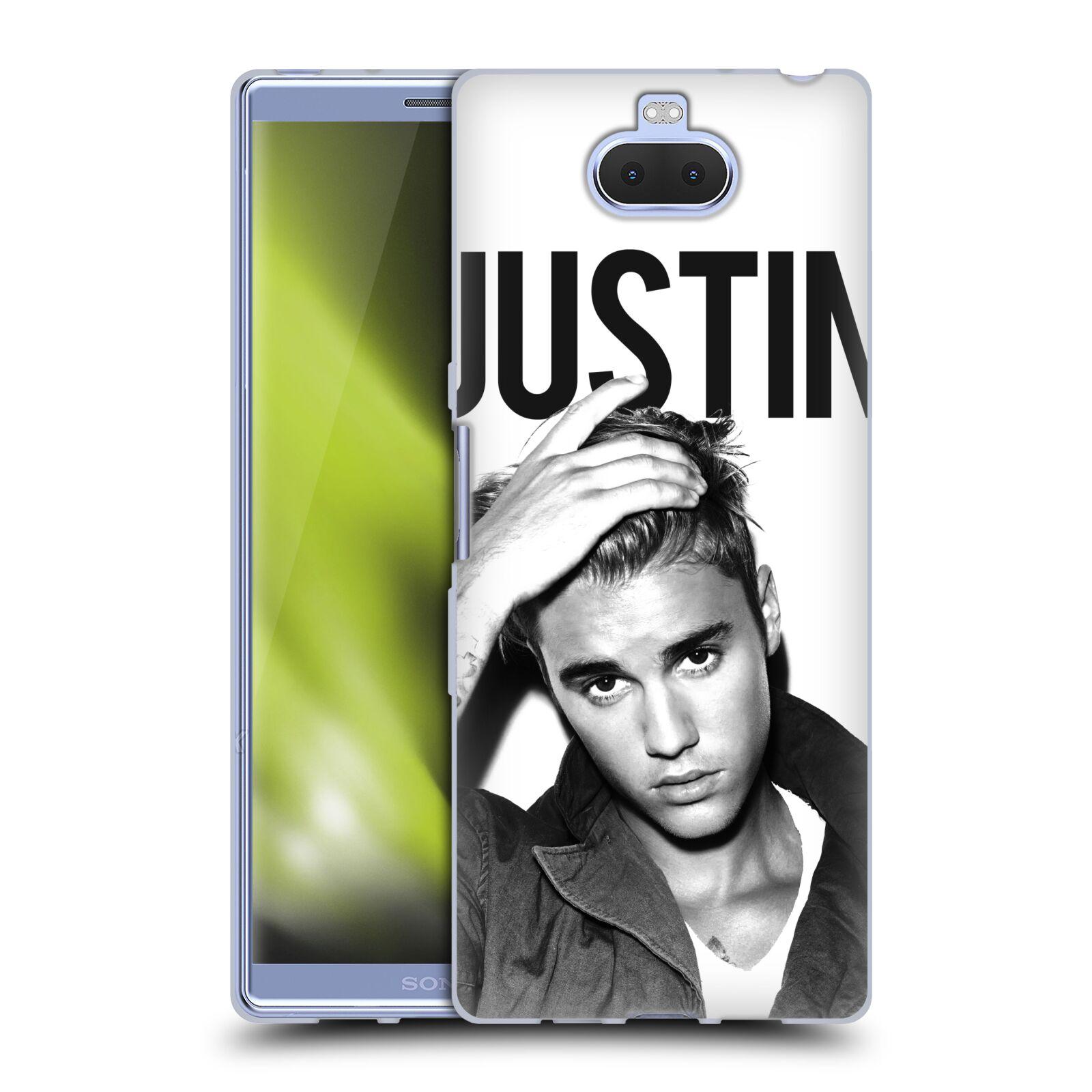 Silikonové pouzdro na mobil Sony Xperia 10 Plus - Head Case - Justin Bieber Official - Póza