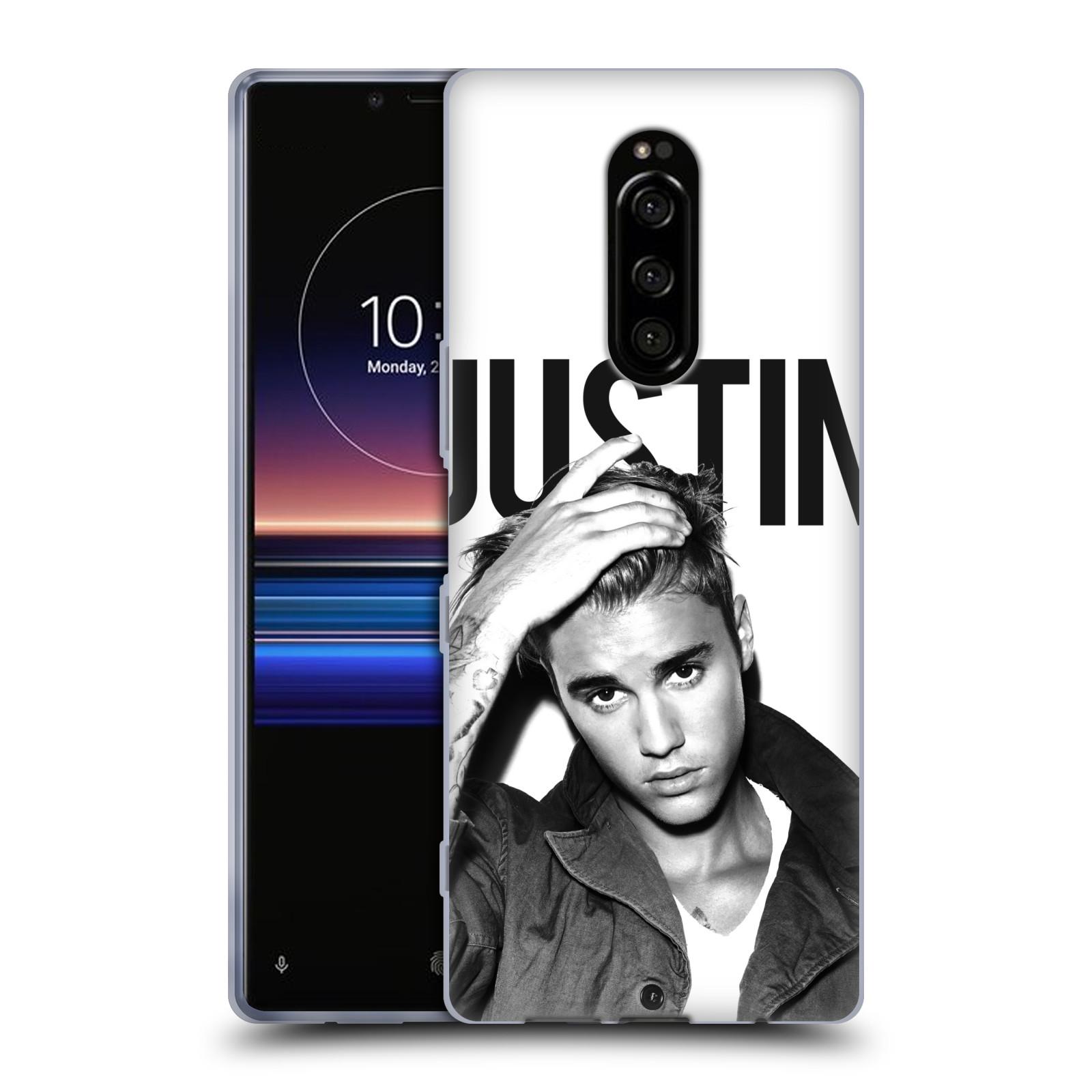 Silikonové pouzdro na mobil Sony Xperia 1 - Head Case - Justin Bieber Official - Póza
