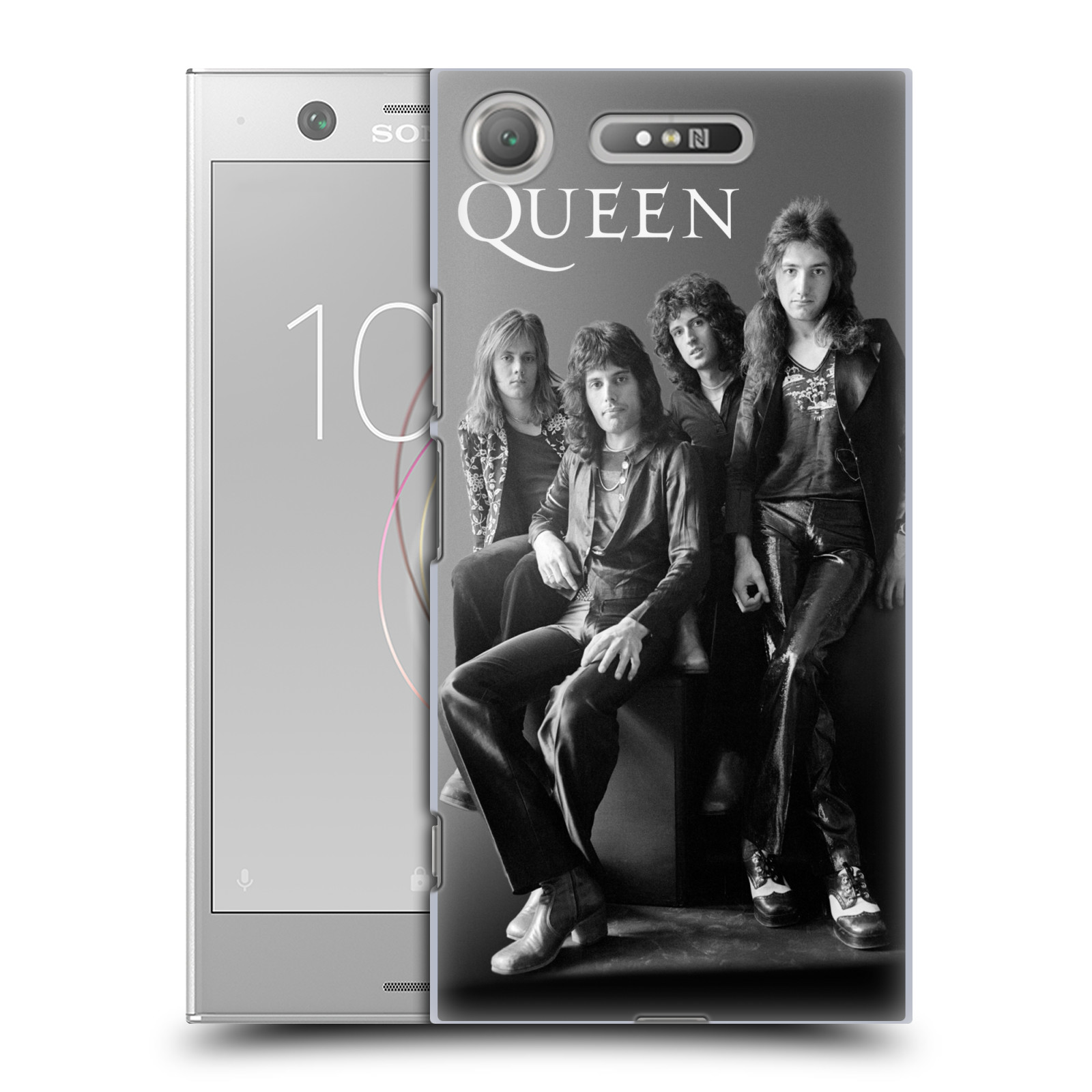 Plastové pouzdro na mobil Sony Xperia XZ1 - Head Case - Queen - Skupina