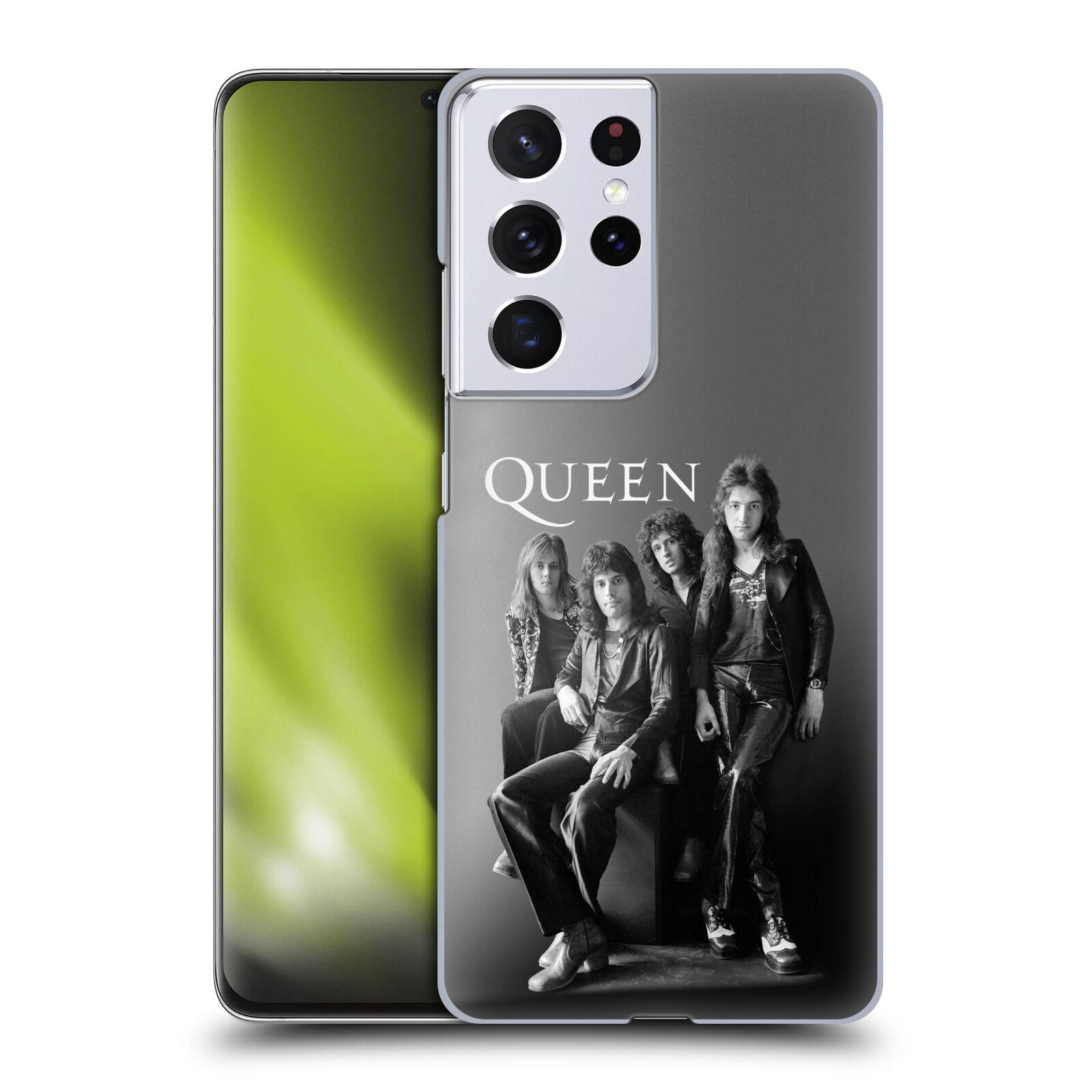 Plastové pouzdro na mobil Samsung Galaxy S21 Ultra 5G - Head Case - Queen - Skupina