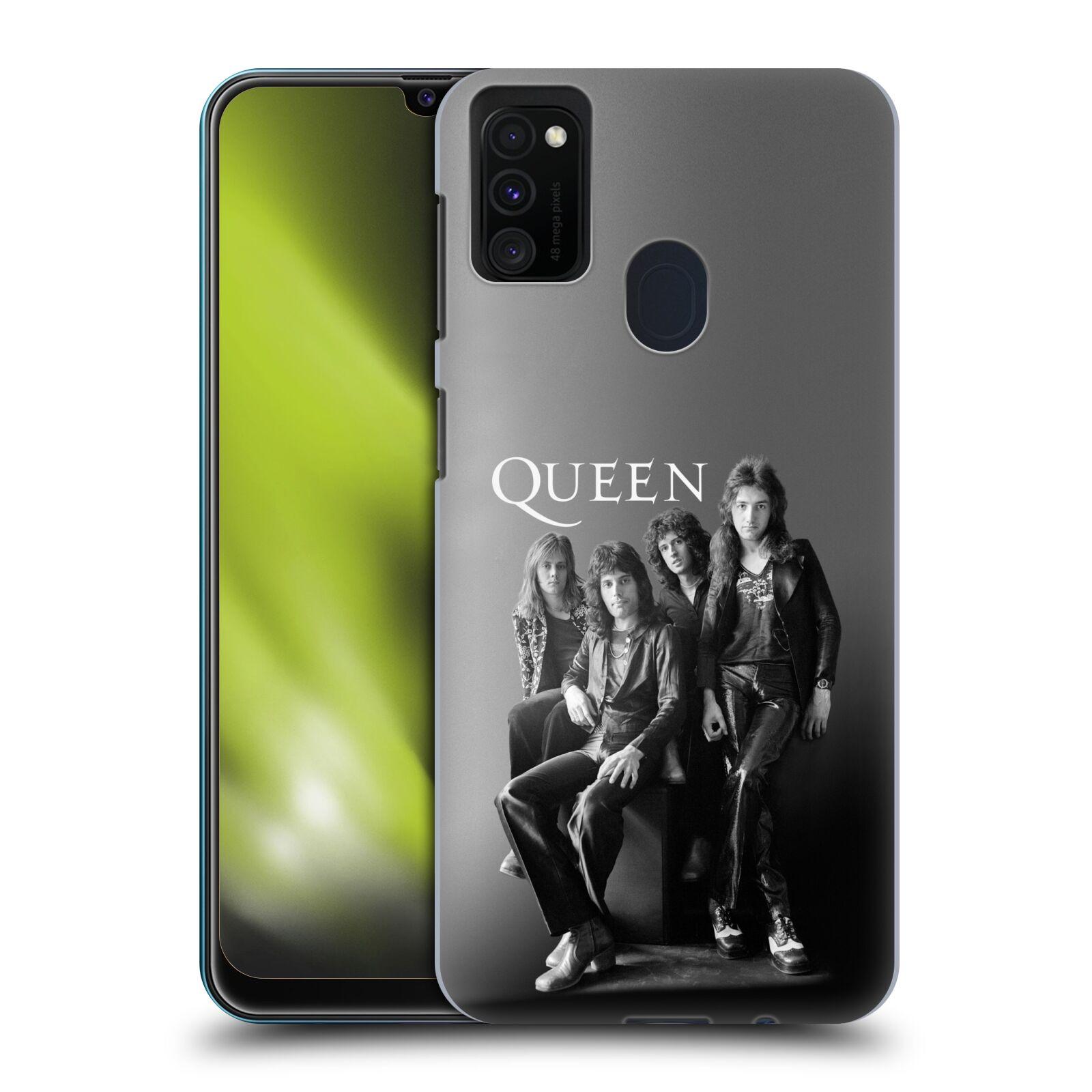 Plastové pouzdro na mobil Samsung Galaxy M21 - Head Case - Queen - Skupina