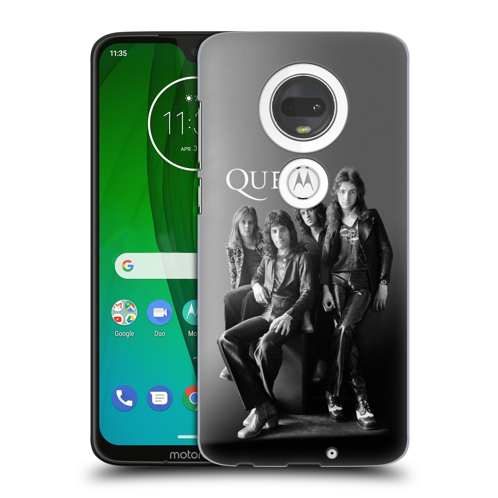 Plastové pouzdro na mobil Motorola Moto G7 - Head Case - Queen - Skupina