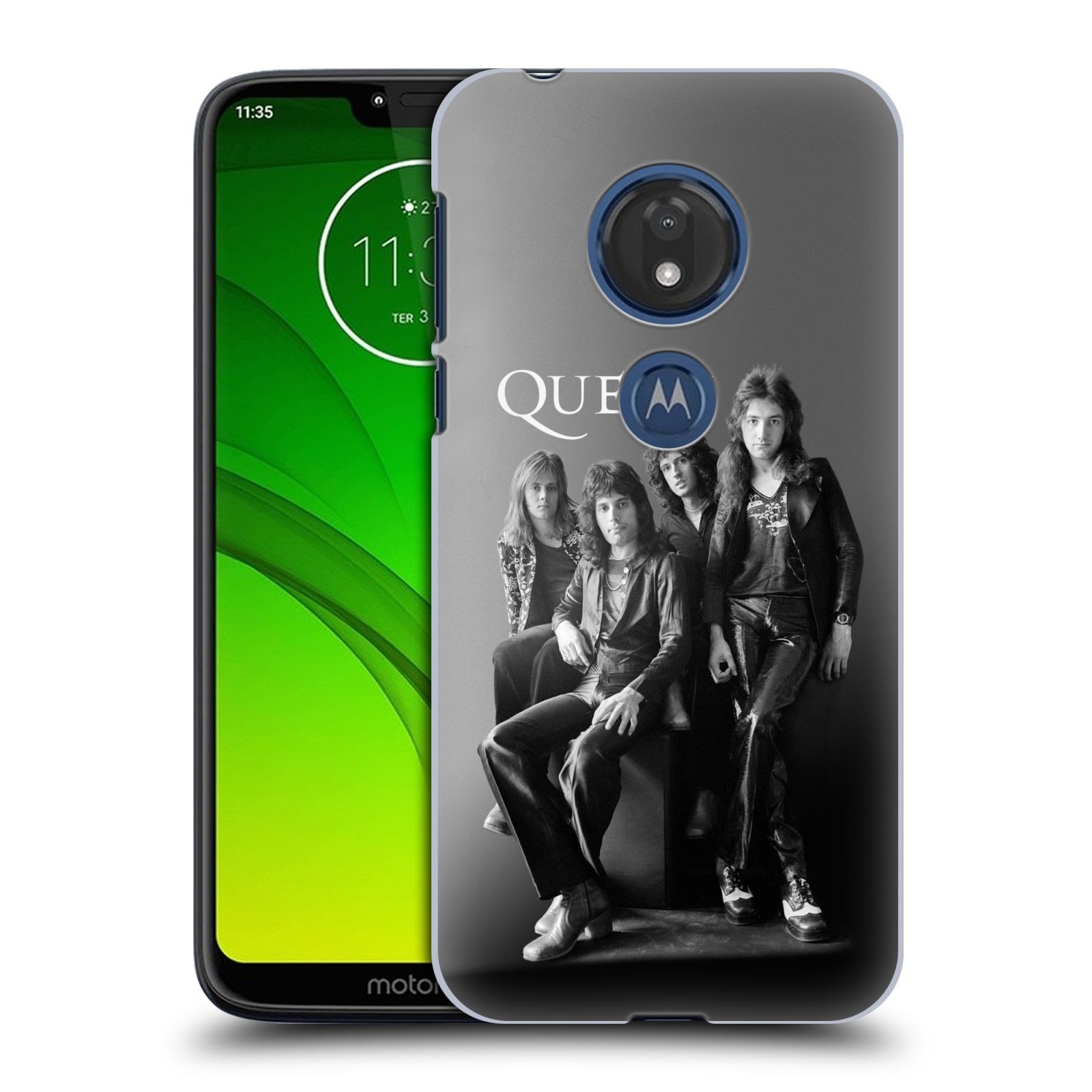 Plastové pouzdro na mobil Motorola Moto G7 Play - Head Case - Queen - Skupina