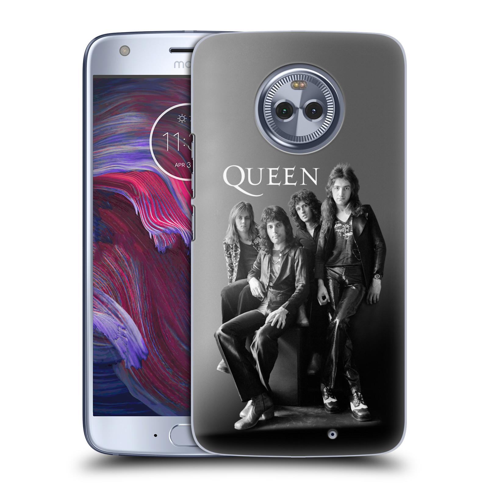 Plastové pouzdro na mobil Lenovo Moto X4 - Head Case - Queen - Skupina
