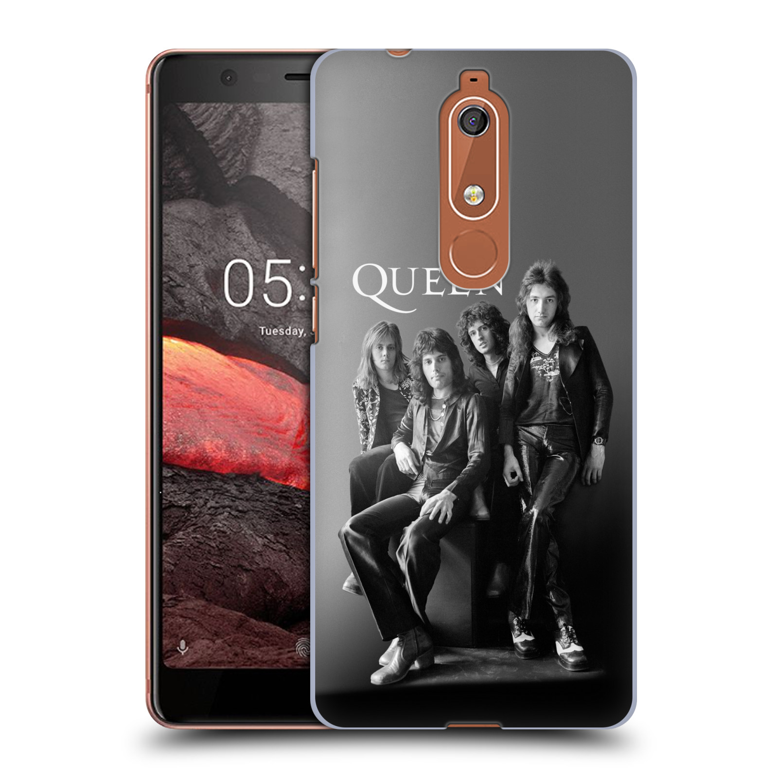Plastové pouzdro na mobil Nokia 5.1 - Head Case - Queen - Skupina