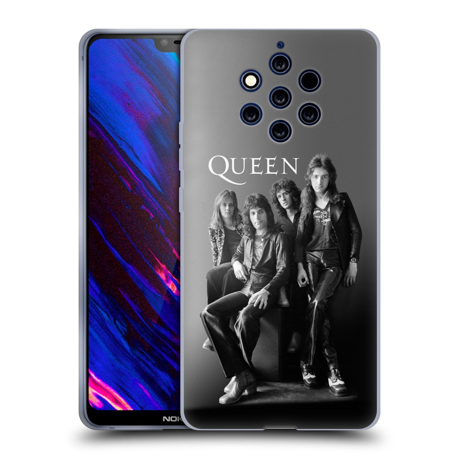 Silikonové pouzdro na mobil Nokia 9 PureView - Head Case - Queen - Skupina