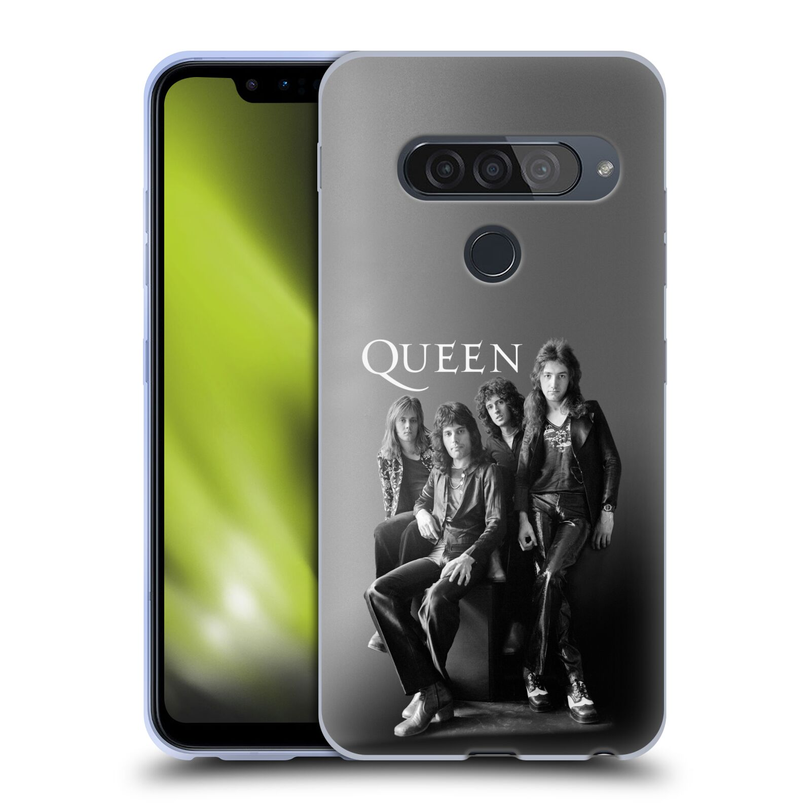 Silikonové pouzdro na mobil LG G8s ThinQ - Head Case - Queen - Skupina