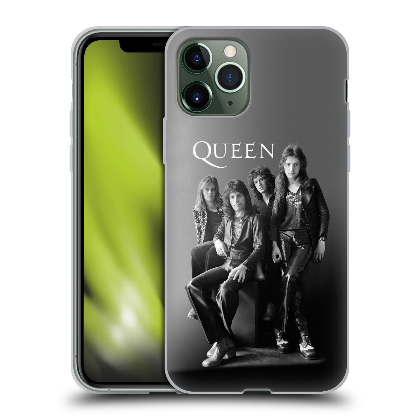 original obaly iphone x - Silikonové pouzdro na mobil Apple iPhone 11 Pro - Head Case - Queen - Skupina