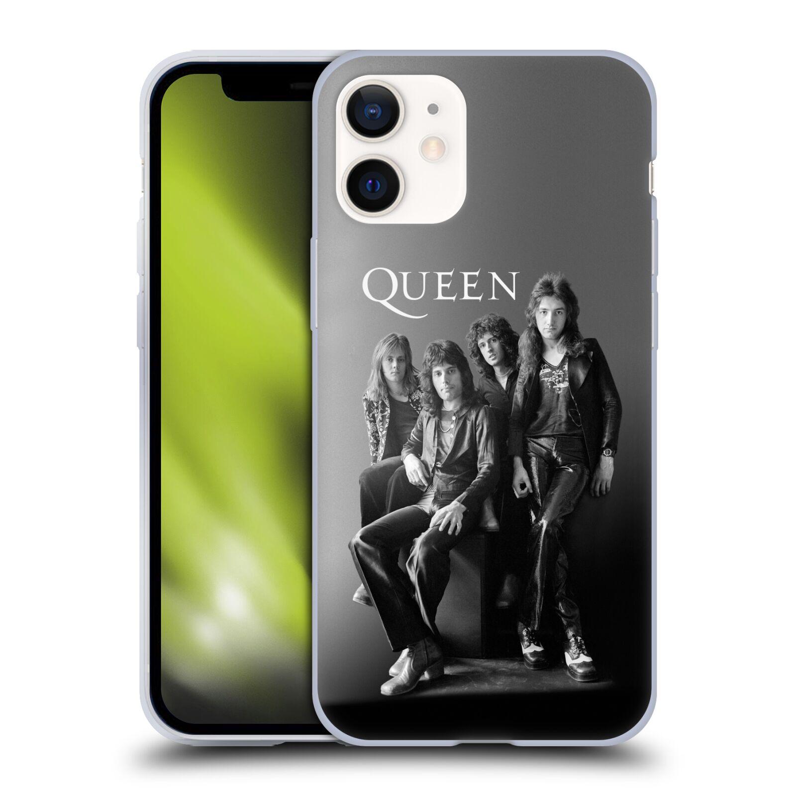 Silikonové pouzdro na mobil Apple iPhone 12 Mini - Head Case - Queen - Skupina
