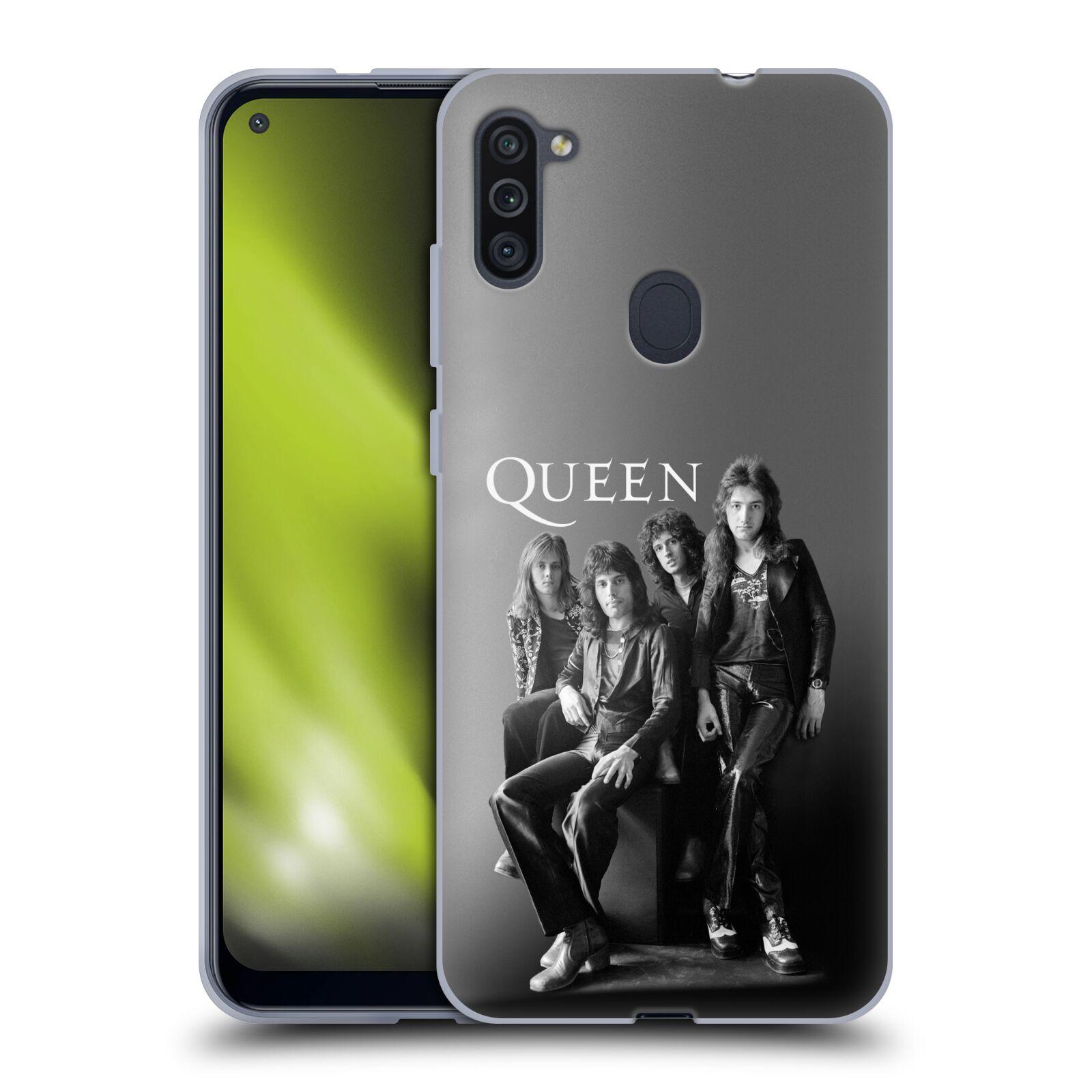 Silikonové pouzdro na mobil Samsung Galaxy M11 - Head Case - Queen - Skupina