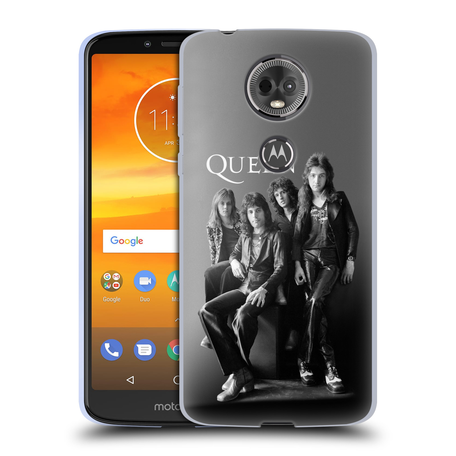 Silikonové pouzdro na mobil Motorola Moto E5 Plus - Head Case - Queen - Skupina