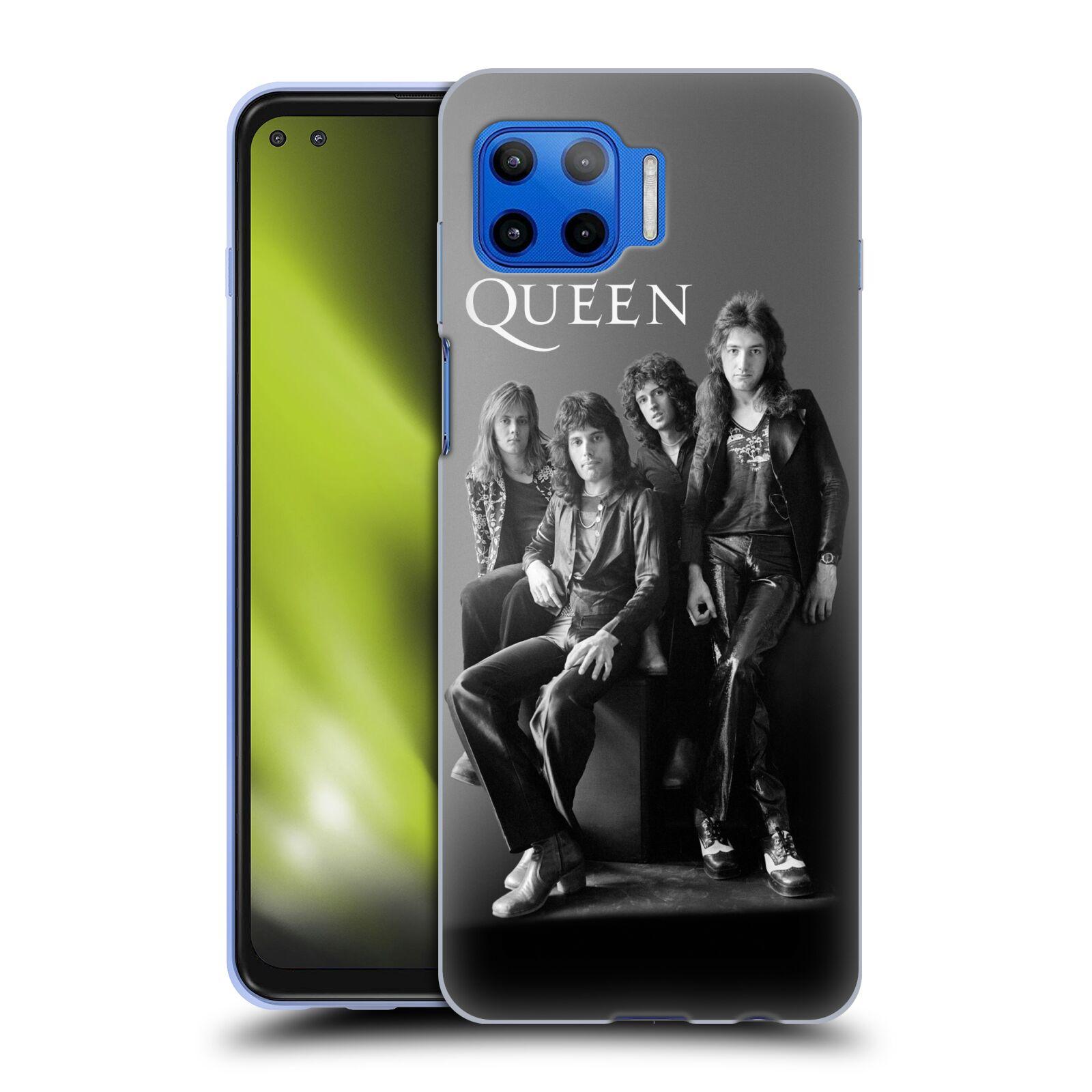 Silikonové pouzdro na mobil Motorola Moto G 5G Plus - Head Case - Queen - Skupina