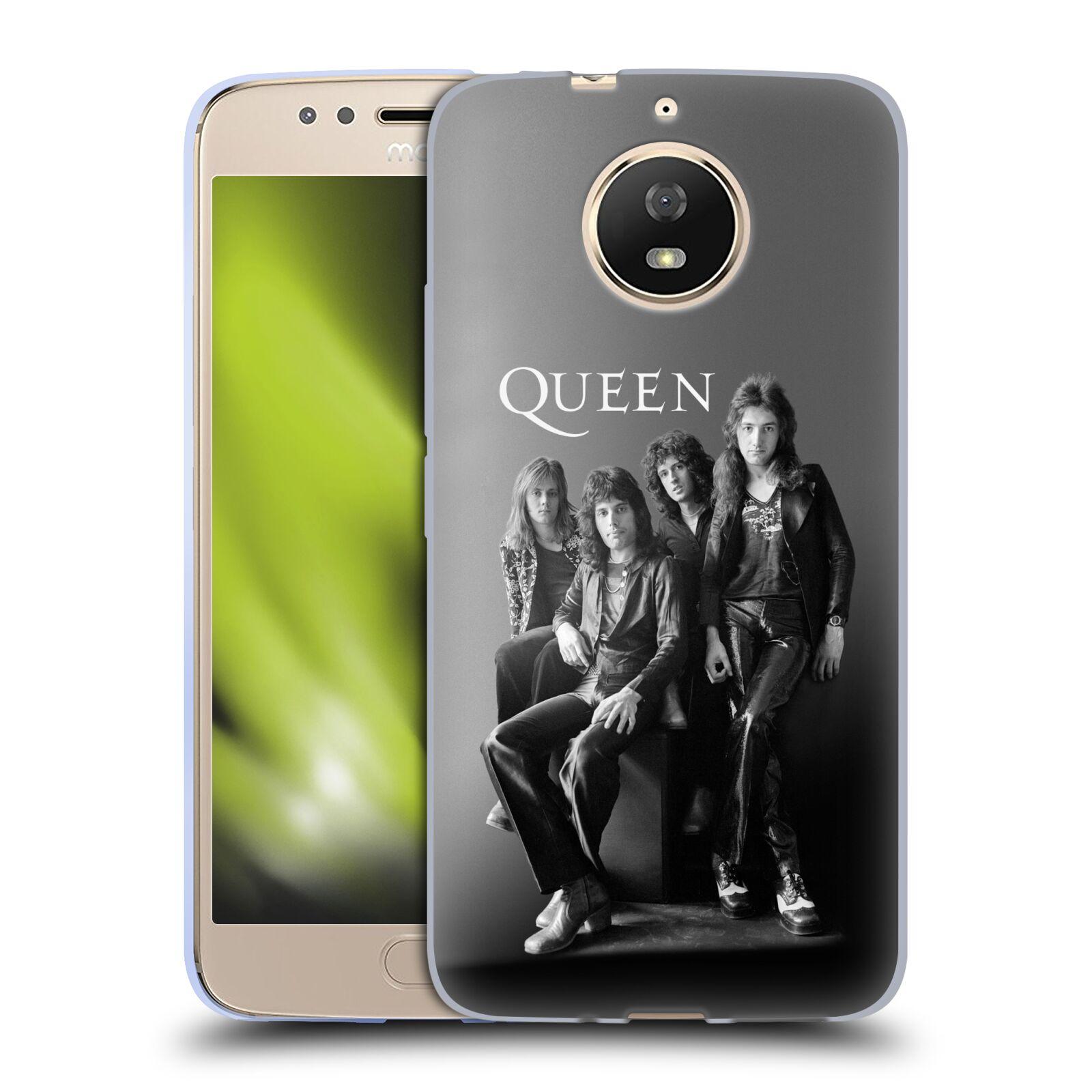 Silikonové pouzdro na mobil Lenovo Moto G5s - Head Case - Queen - Skupina