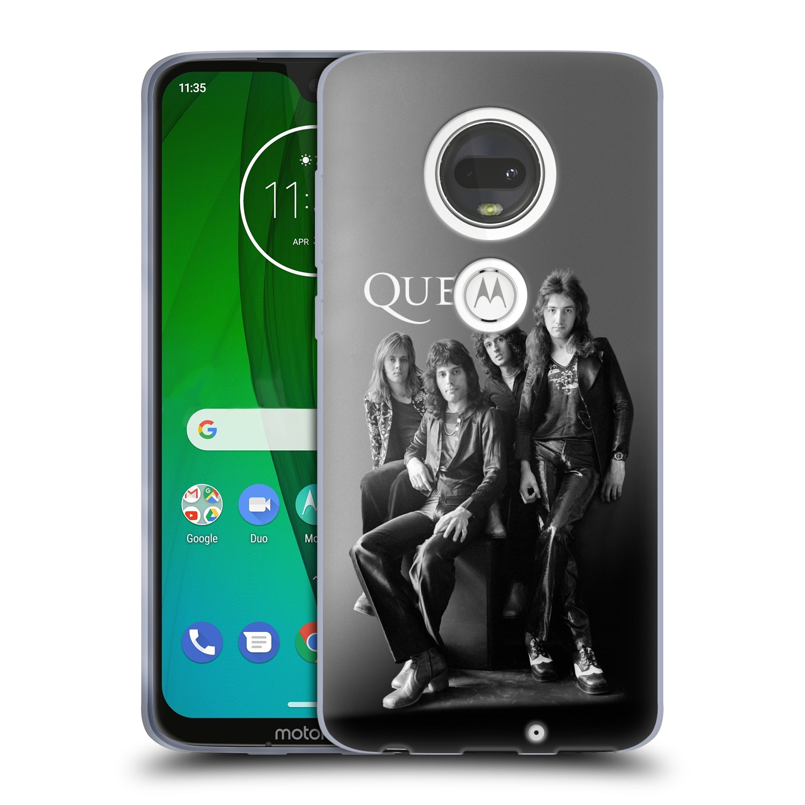 Silikonové pouzdro na mobil Motorola Moto G7 - Head Case - Queen - Skupina