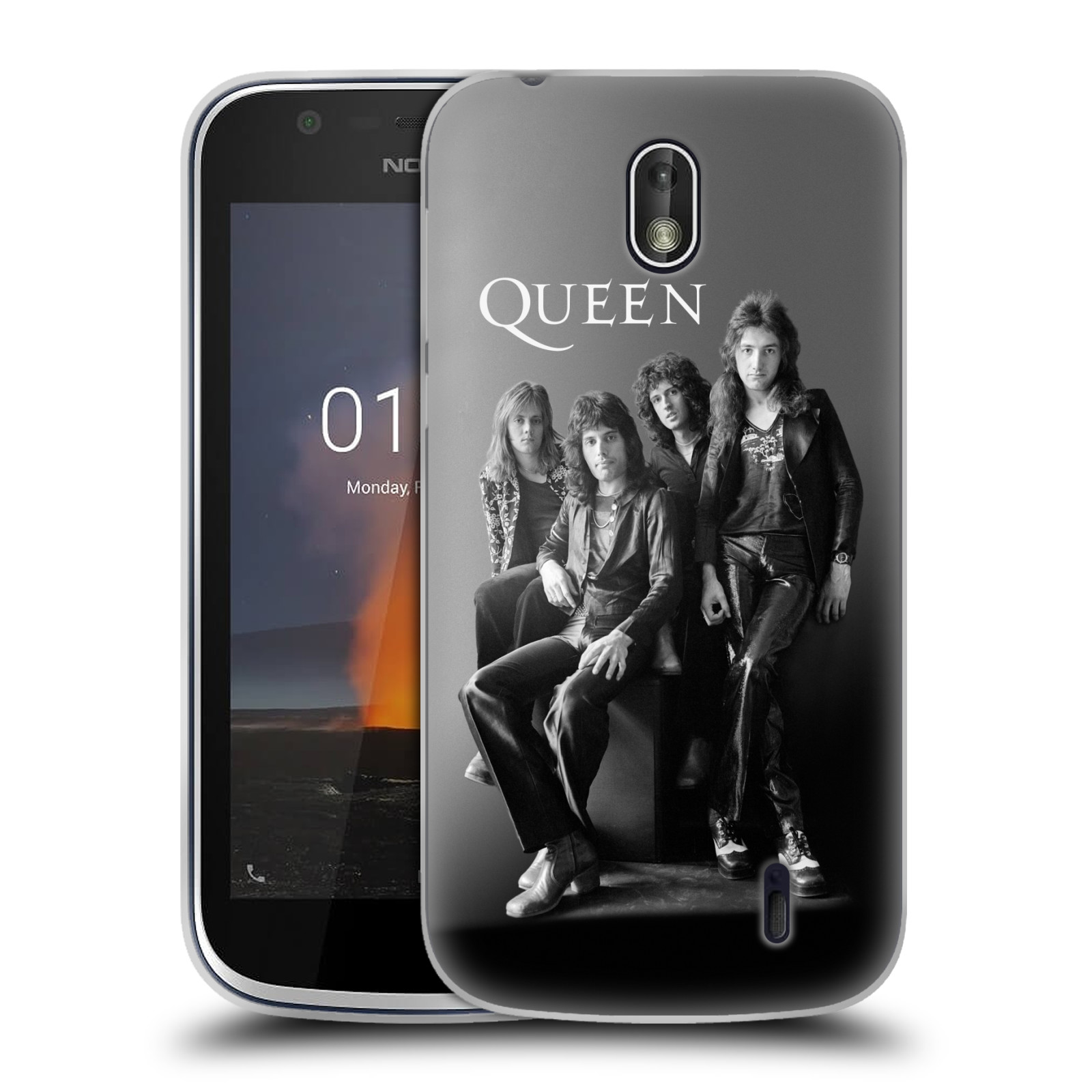 Silikonové pouzdro na mobil Nokia 1 - Head Case - Queen - Skupina