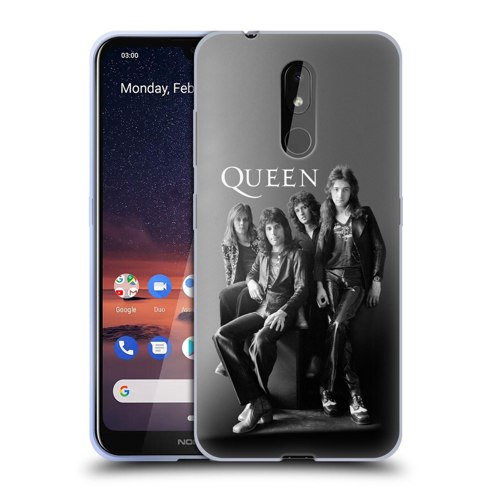 Silikonové pouzdro na mobil Nokia 3.2 - Head Case - Queen - Skupina