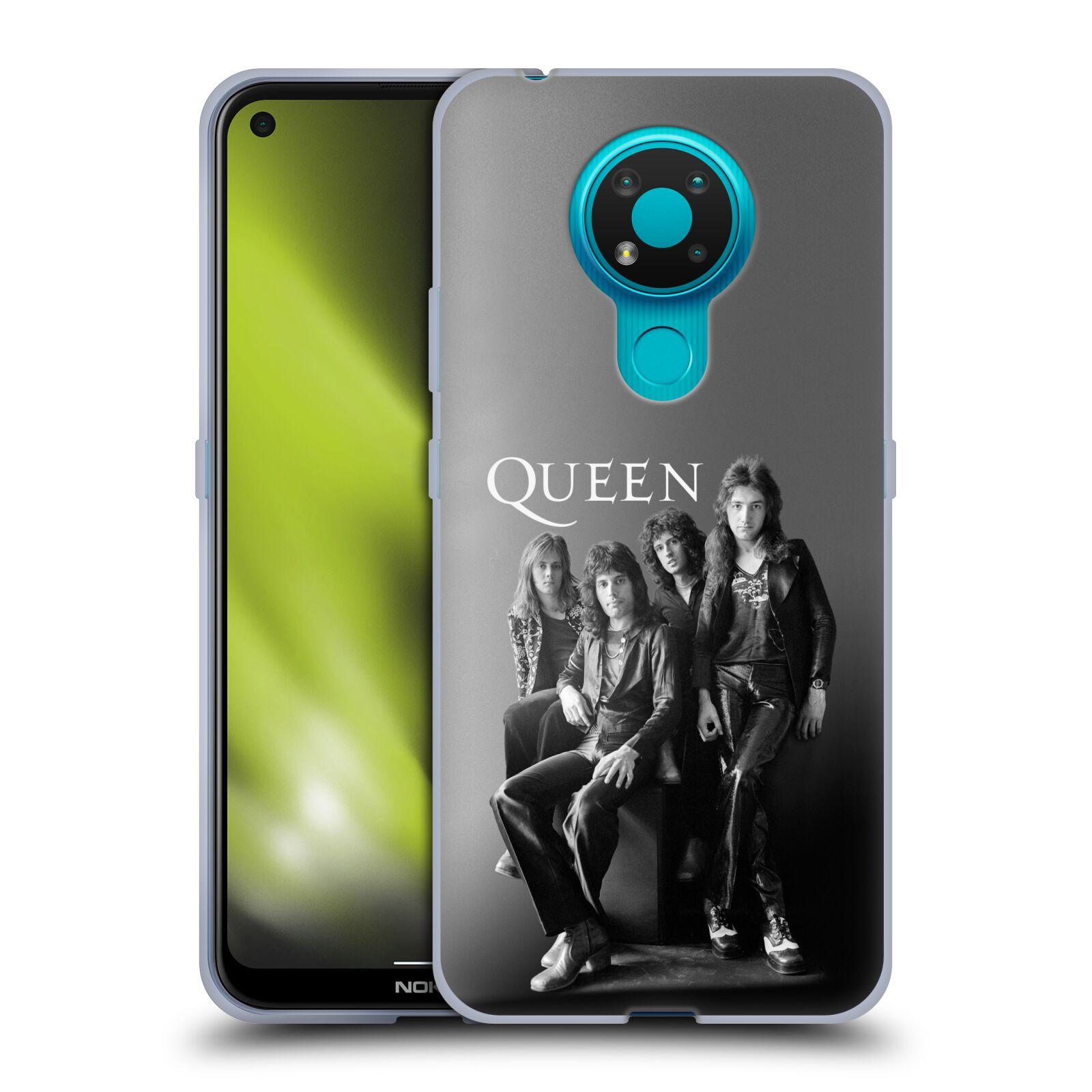 Silikonové pouzdro na mobil Nokia 3.4 - Head Case - Queen - Skupina