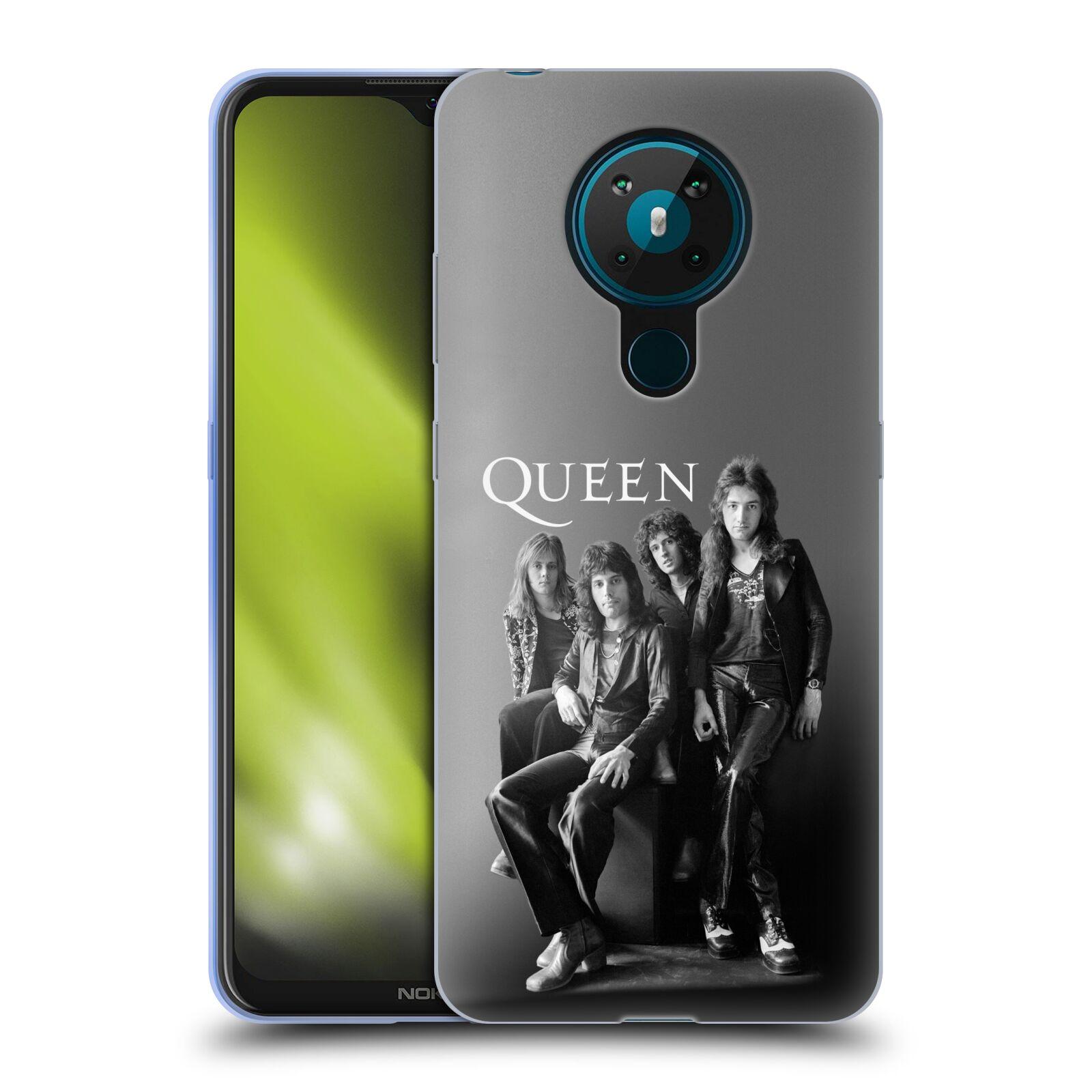 Silikonové pouzdro na mobil Nokia 5.3 - Head Case - Queen - Skupina