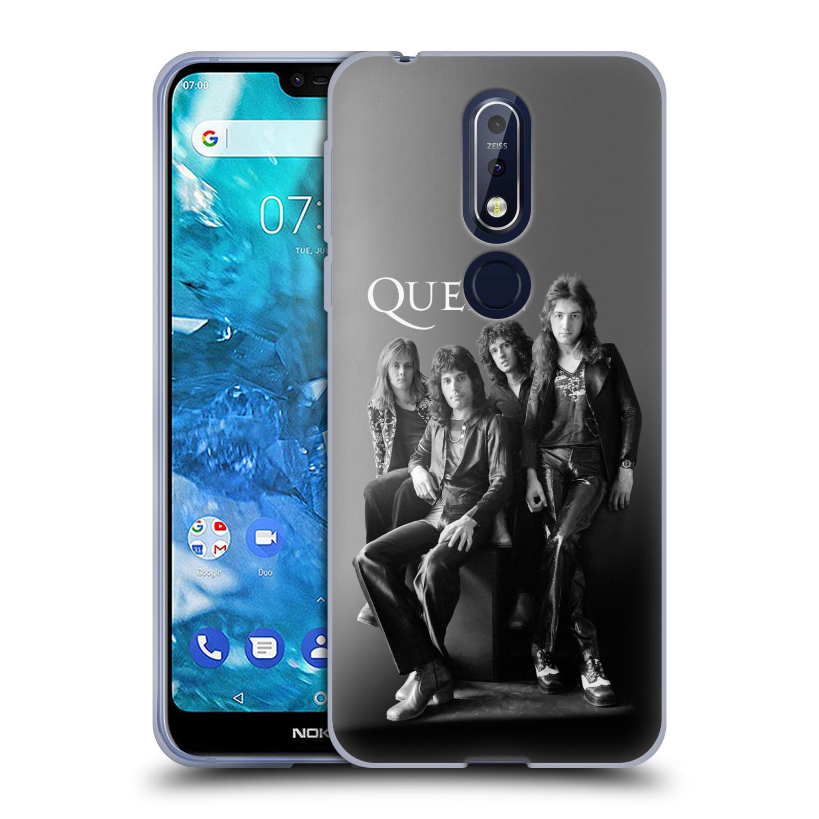 Silikonové pouzdro na mobil Nokia 7.1 - Head Case - Queen - Skupina