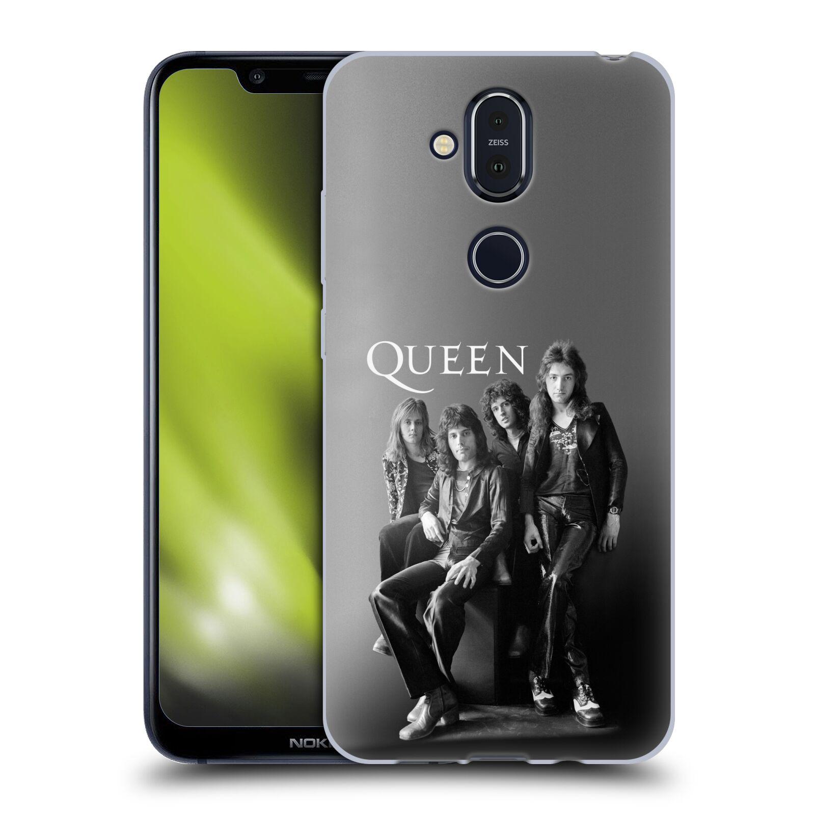 Silikonové pouzdro na mobil Nokia 8.1 - Head Case - Queen - Skupina