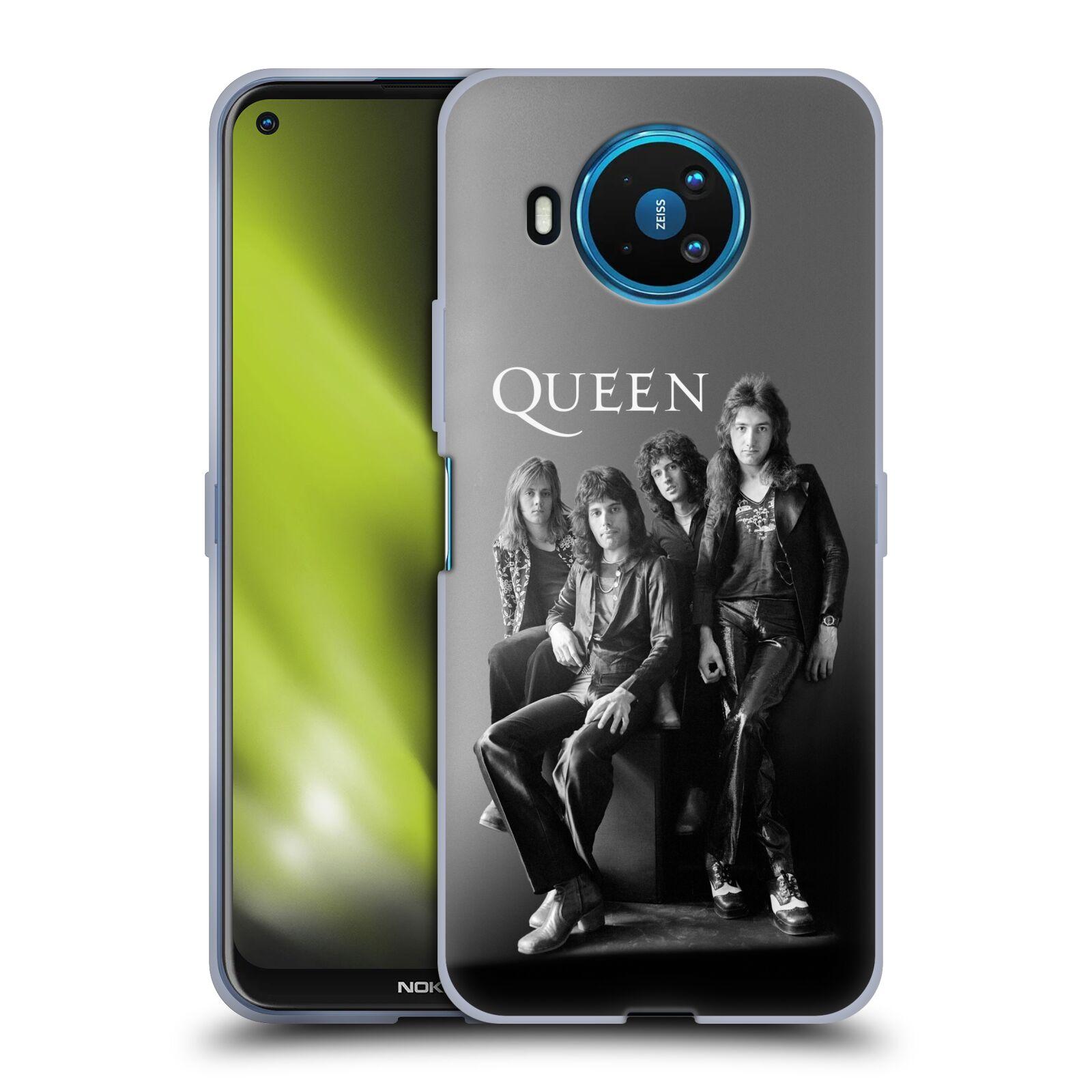 Silikonové pouzdro na mobil Nokia 8.3 5G - Head Case - Queen - Skupina