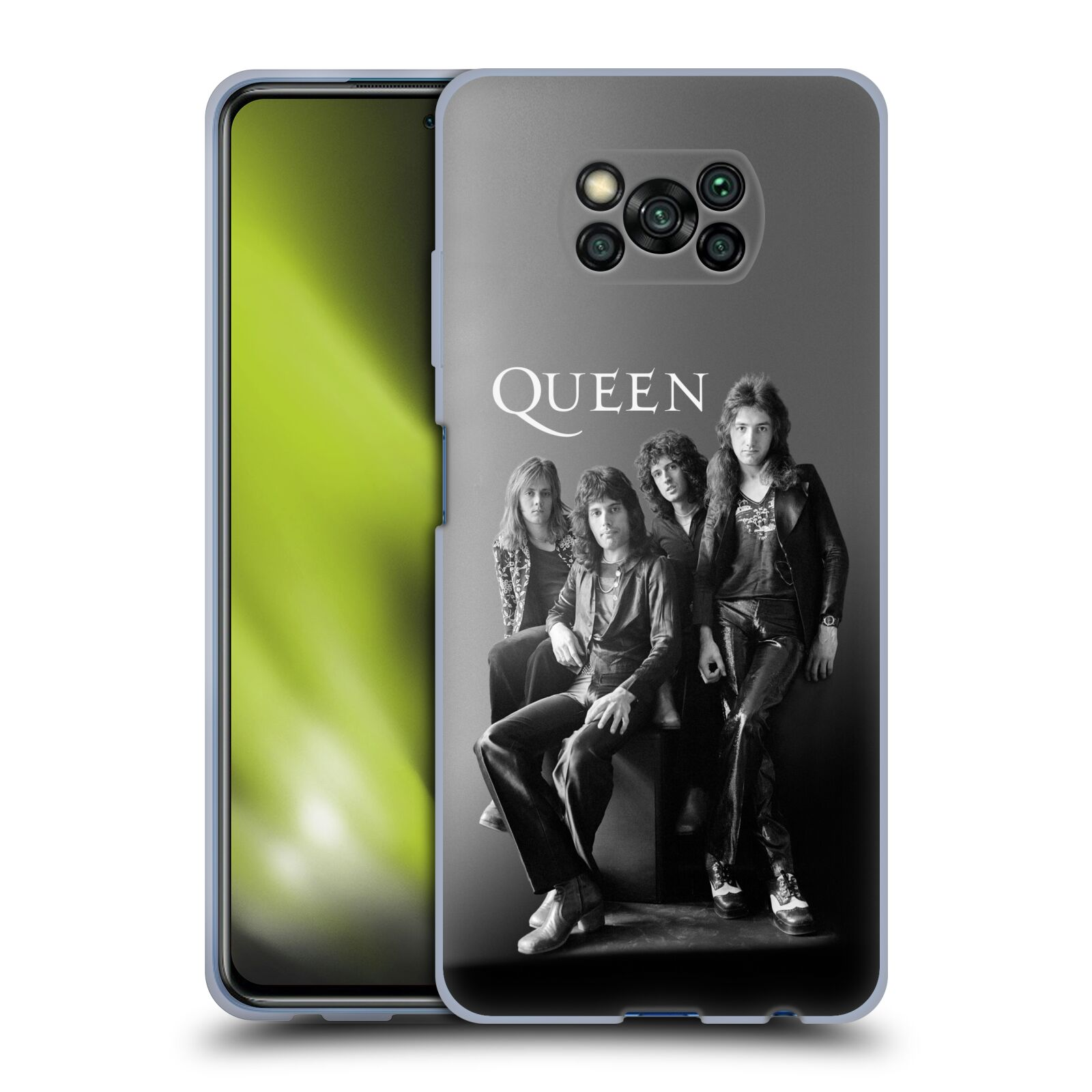 Silikonové pouzdro na mobil Xiaomi Poco X3 NFC - Head Case - Queen - Skupina