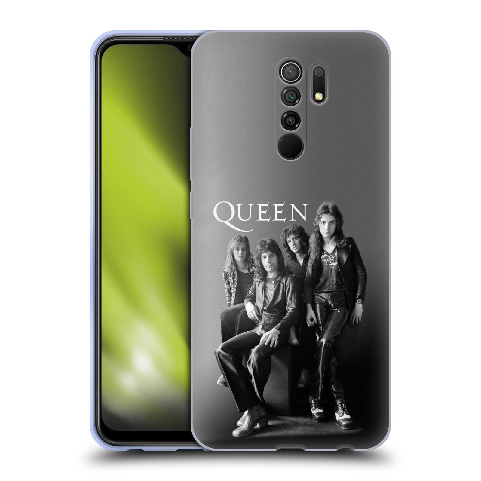 Silikonové pouzdro na mobil Xiaomi Redmi 9 - Head Case - Queen - Skupina