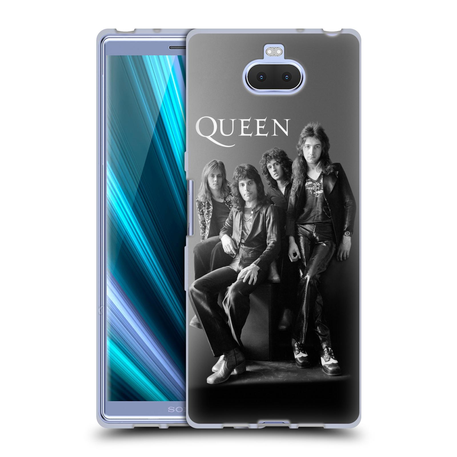 Silikonové pouzdro na mobil Sony Xperia 10 - Head Case - Queen - Skupina