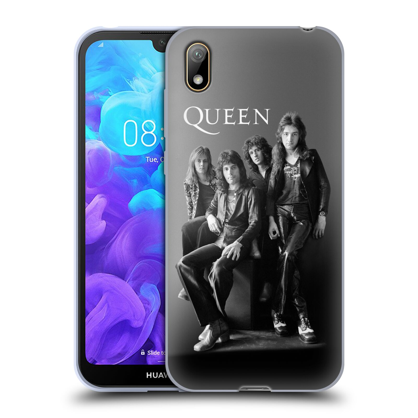 Silikonové pouzdro na mobil Huawei Y5 (2019) - Head Case - Queen - Skupina