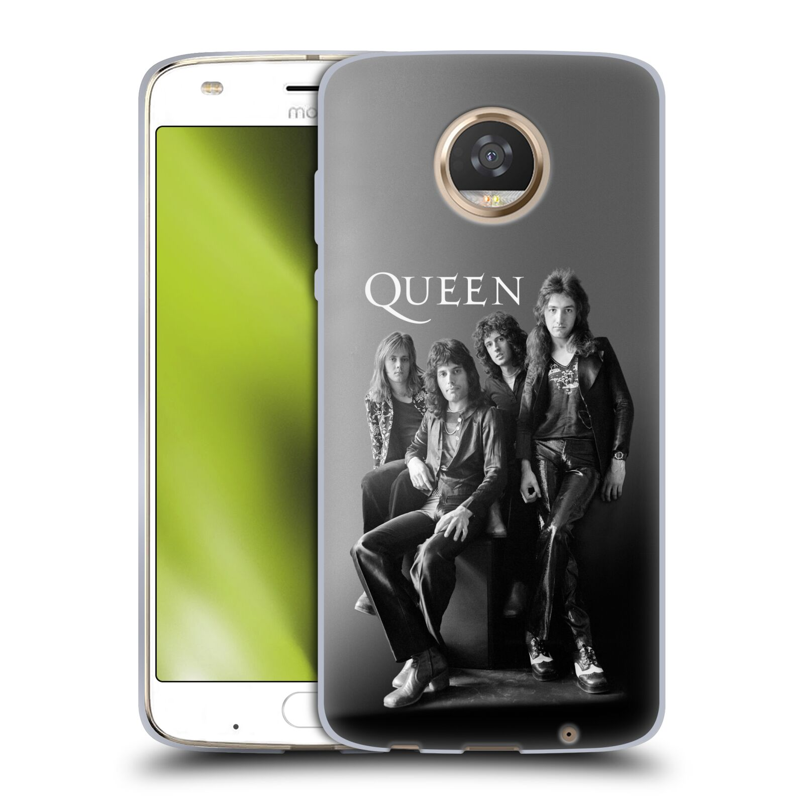 Silikonové pouzdro na mobil Lenovo Moto Z2 Play - Head Case - Queen - Skupina