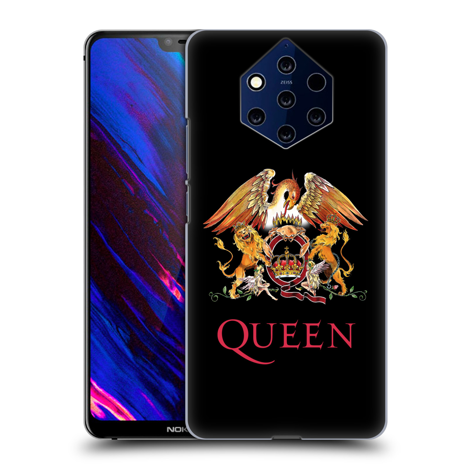 Plastové pouzdro na mobil Nokia 9 PureView - Head Case - Queen - Logo