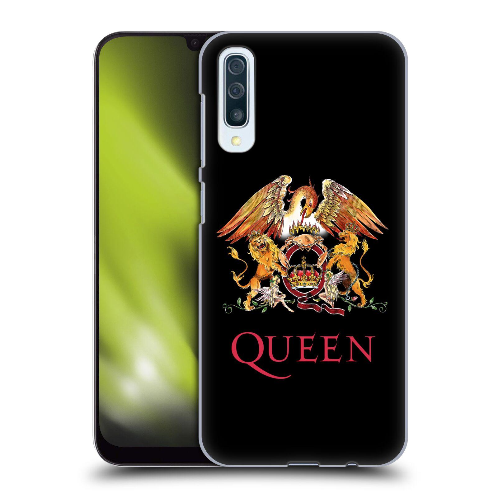 Plastové pouzdro na mobil Samsung Galaxy A50 - Head Case - Queen - Logo