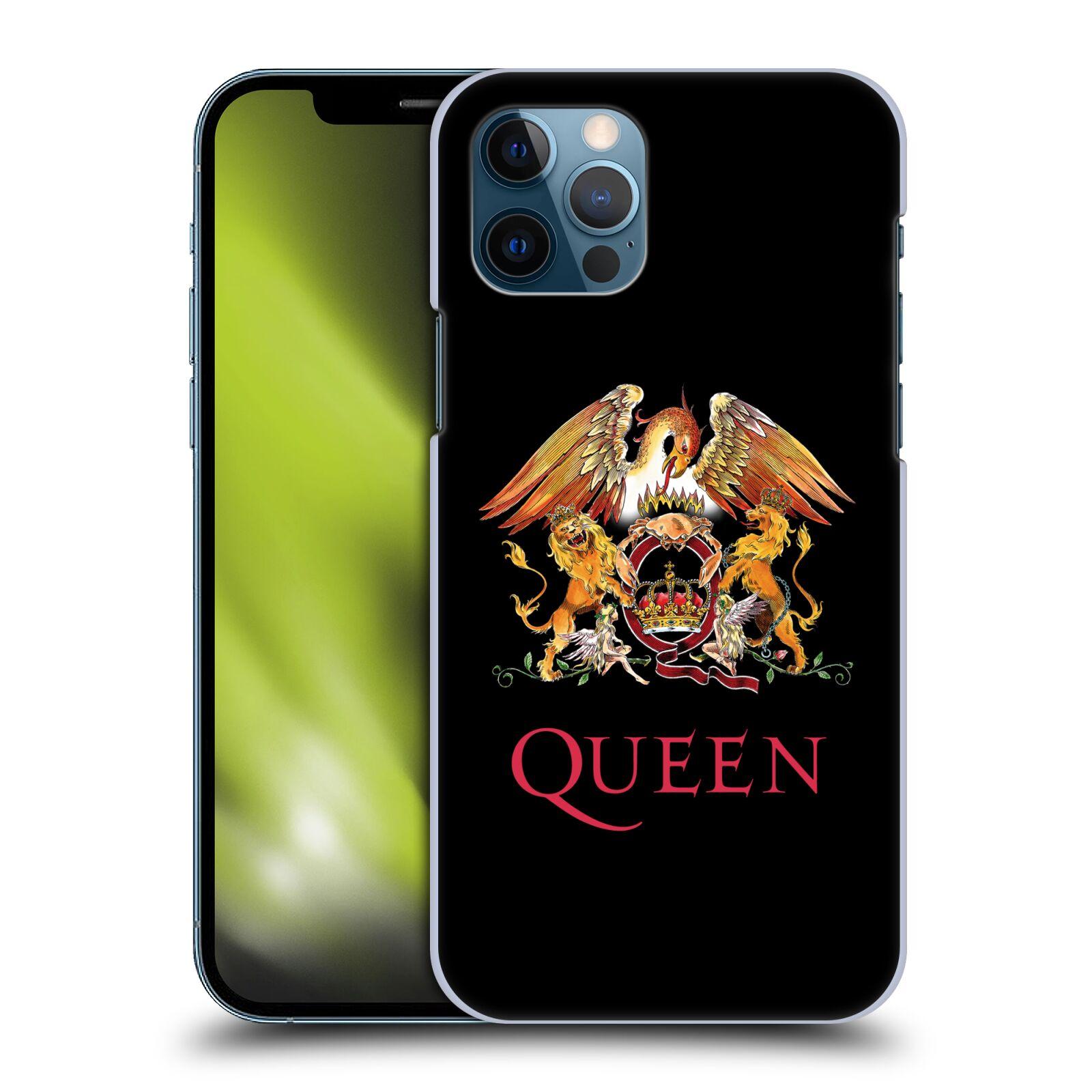 Plastové pouzdro na mobil Apple iPhone 12 / 12 Pro - Head Case - Queen - Logo