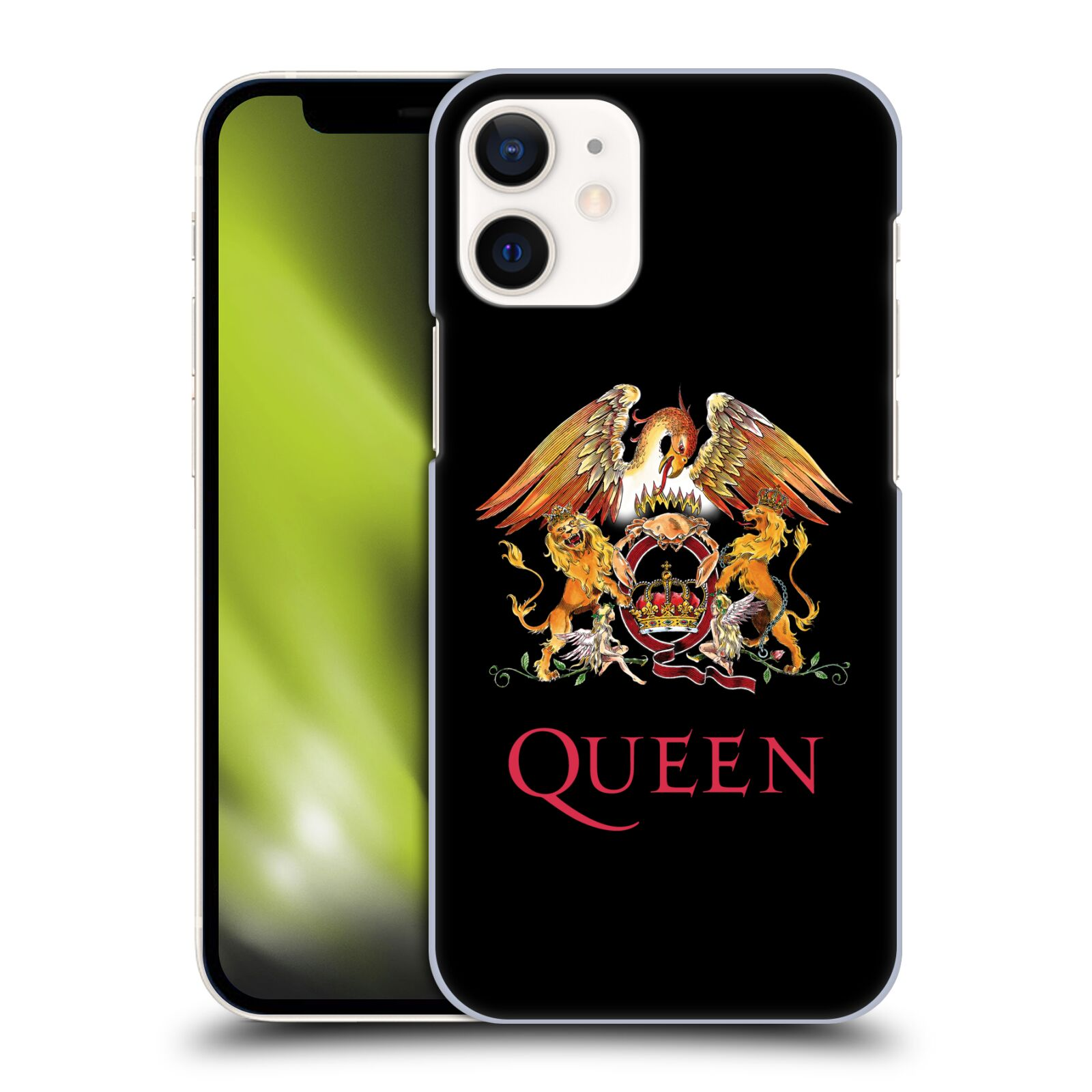Plastové pouzdro na mobil Apple iPhone 12 Mini - Head Case - Queen - Logo