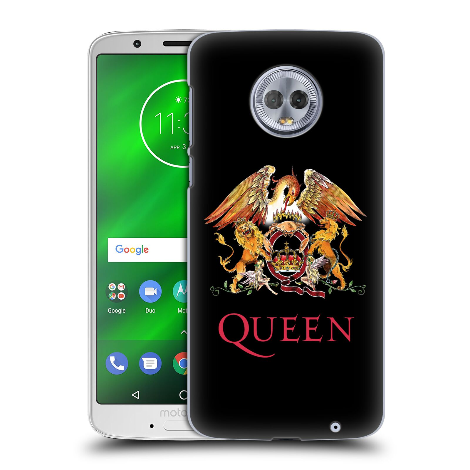 Plastové pouzdro na mobil Motorola Moto G6 Plus - Head Case - Queen - Logo