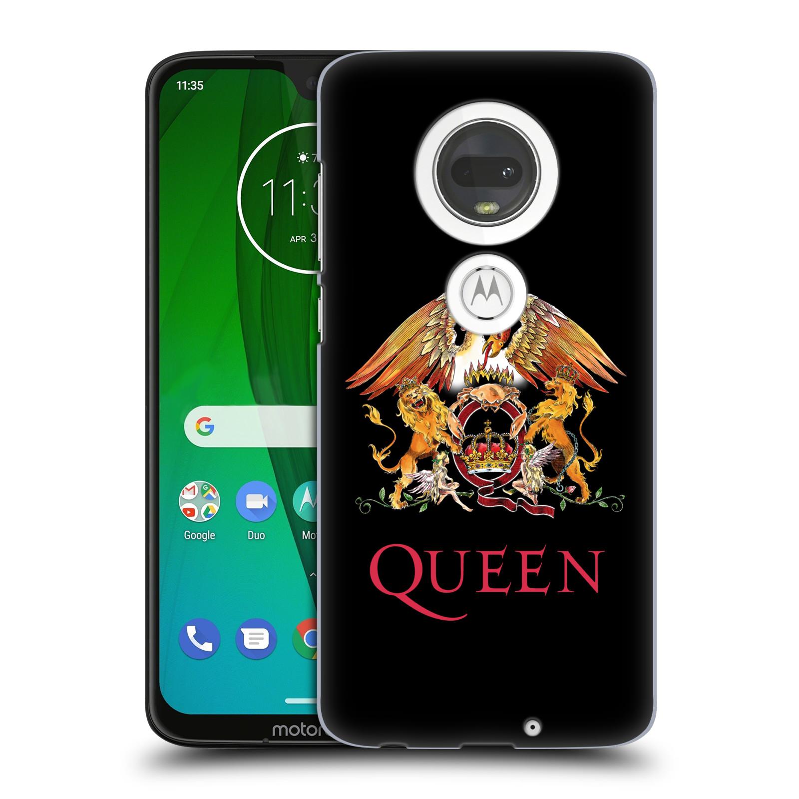 Plastové pouzdro na mobil Motorola Moto G7 - Head Case - Queen - Logo