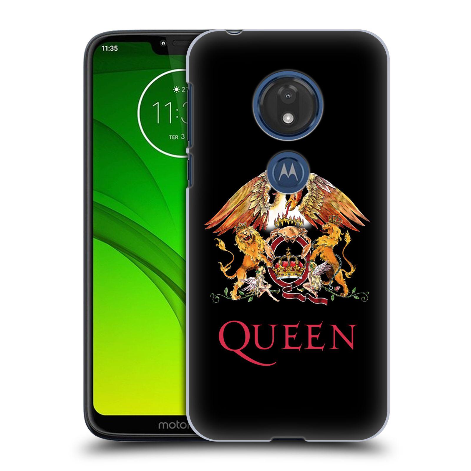Plastové pouzdro na mobil Motorola Moto G7 Play - Head Case - Queen - Logo